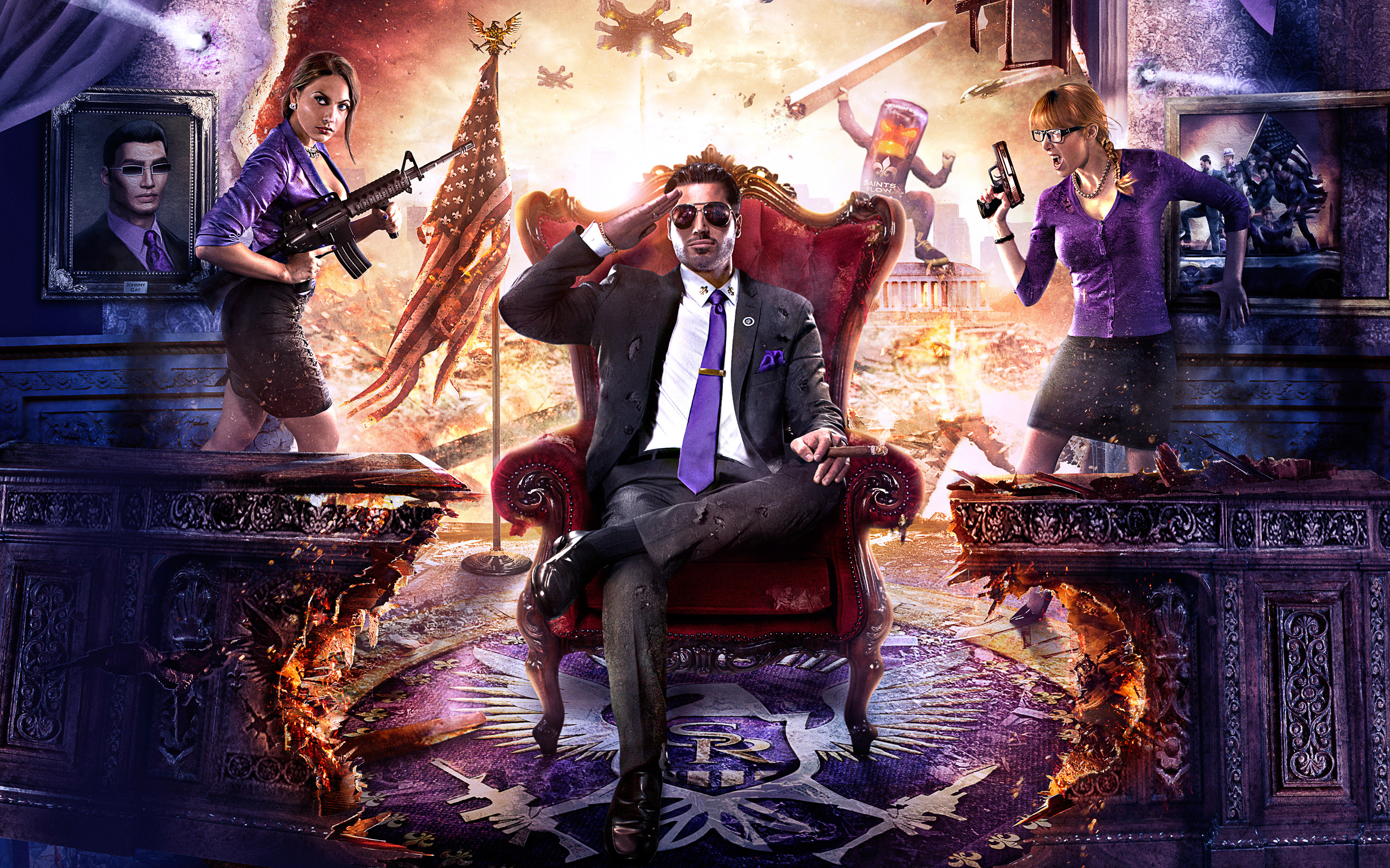 Saints Row Wallpaper Wallpapertag