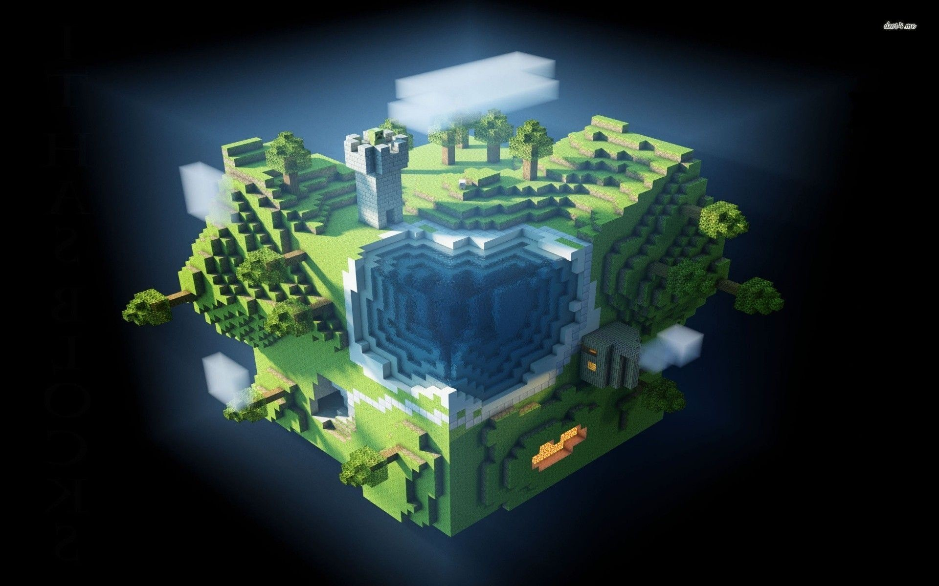 Awesome Minecraft Wallpaper 1