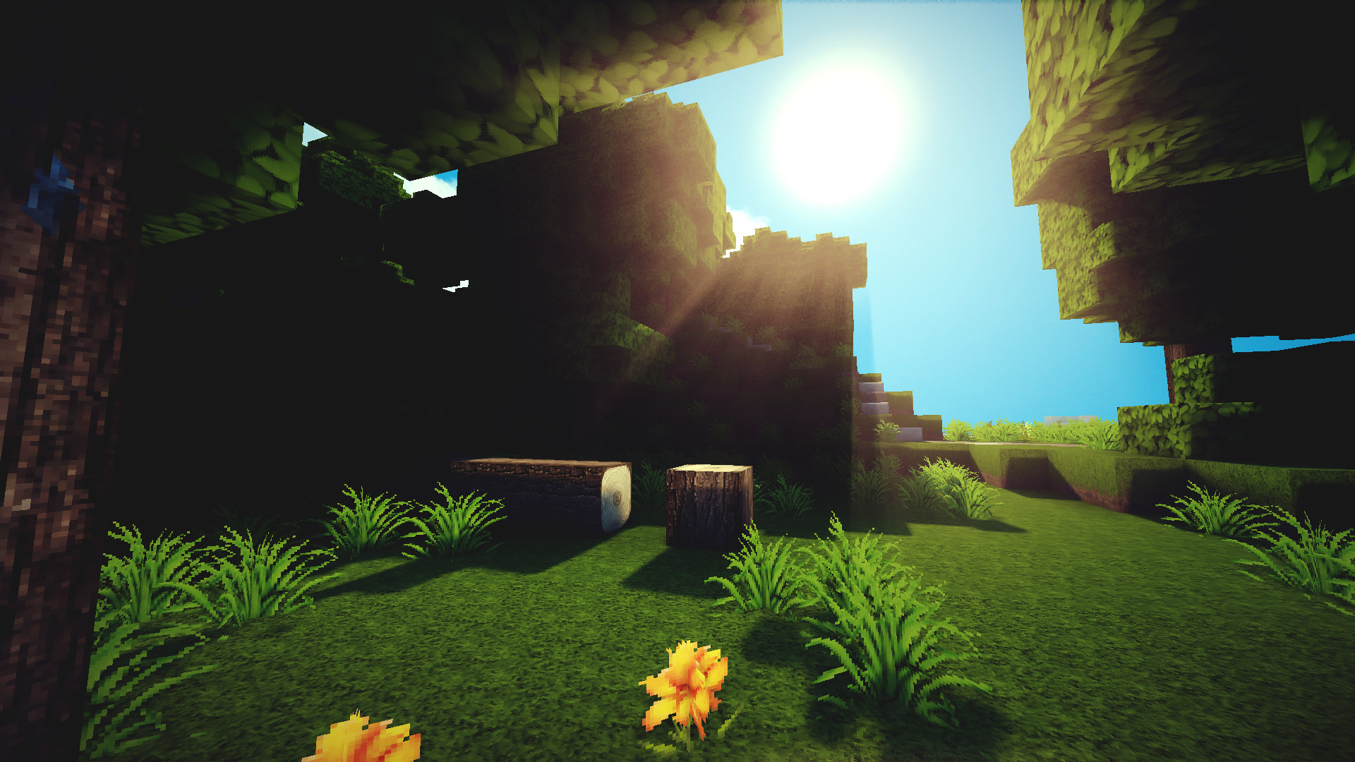 Hd Minecraft Backgrounds Wallpapertag