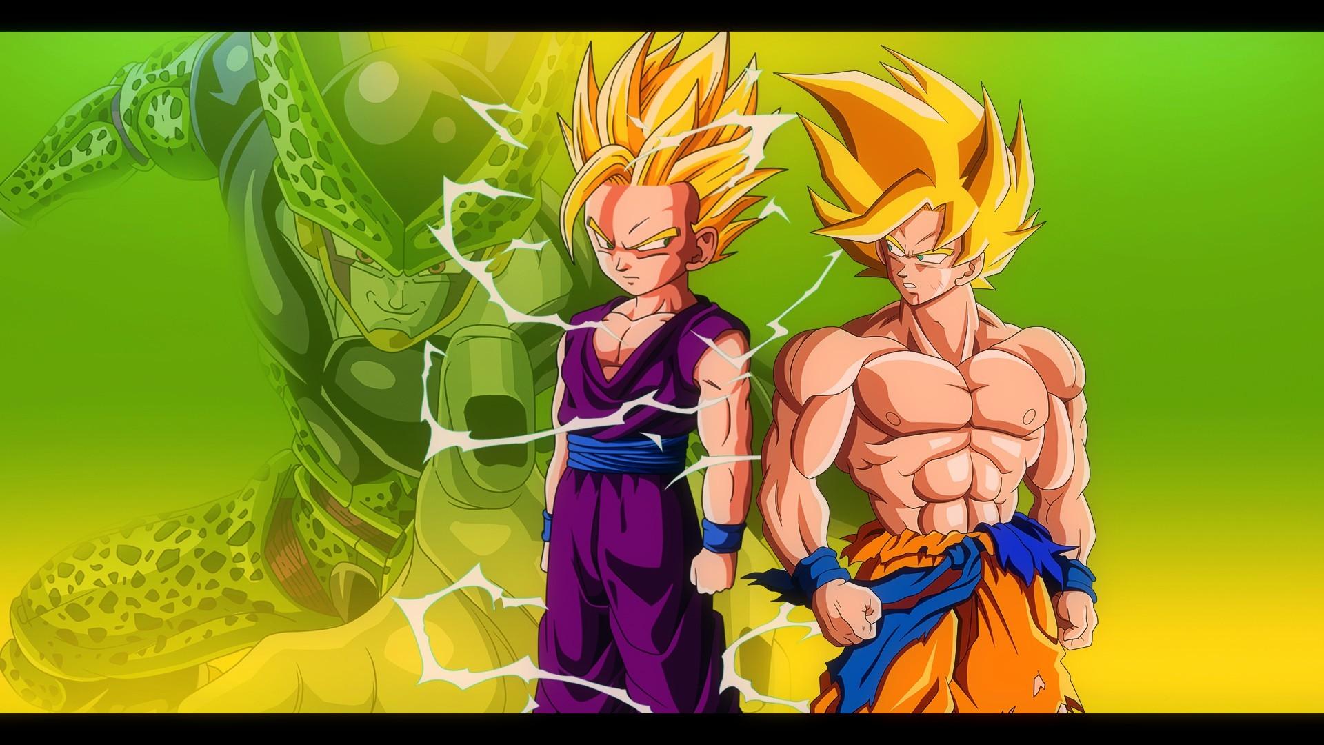 Dragon ball z budokai 3: super saiyan 2 gohan vs. Perfect cell.