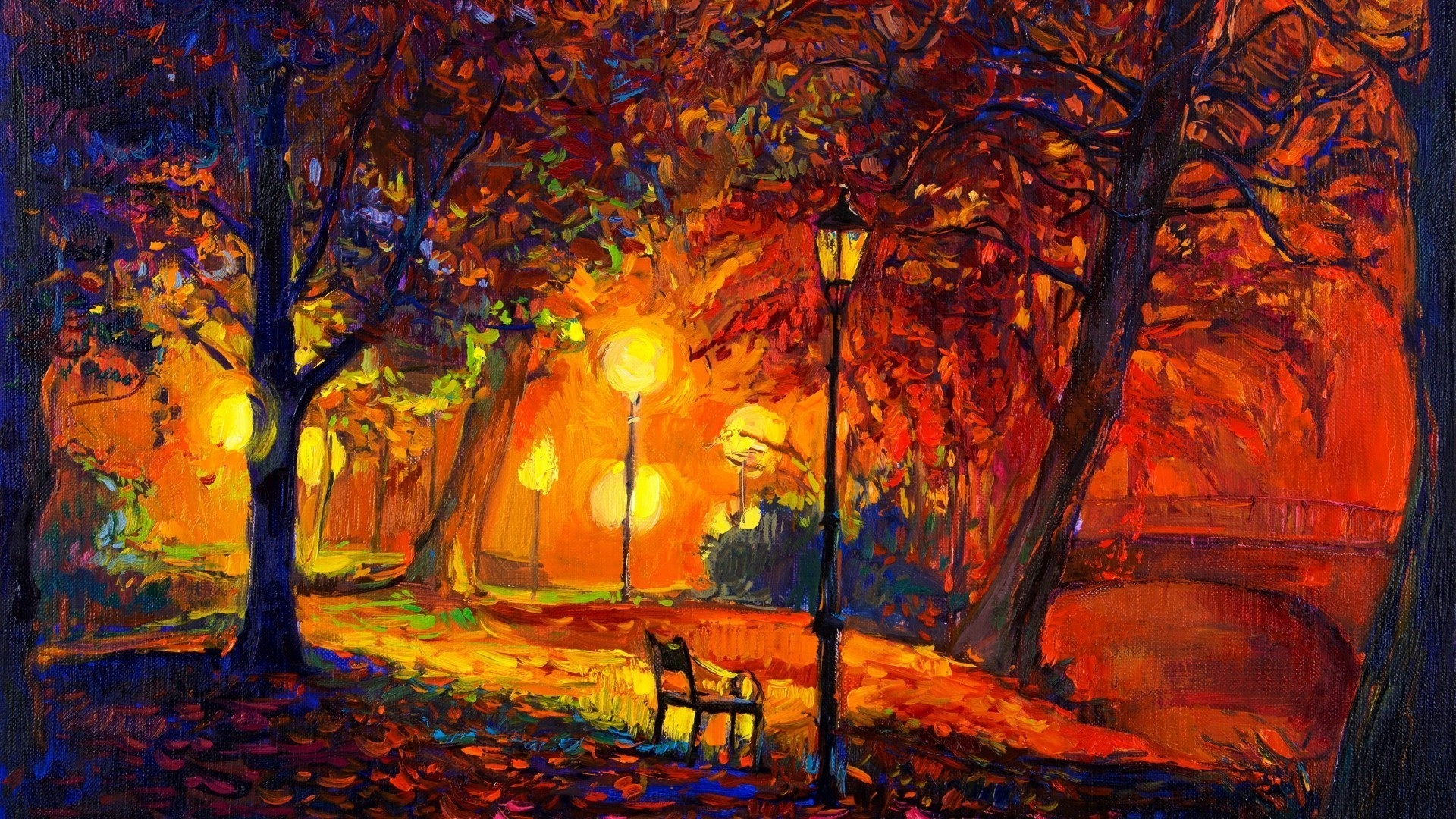 Wallpapersafari: Impressionist Backgrounds ·①