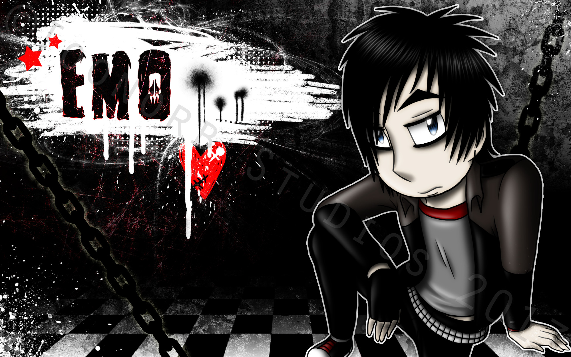 Cool emo backgrounds wallpapertag - Cool wallpapers emo ...