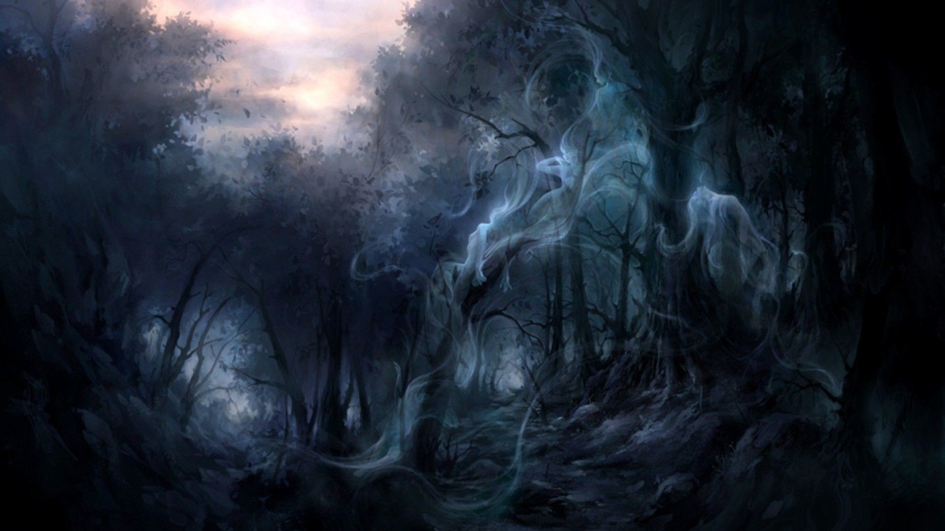 Enchanted Forest Background 1