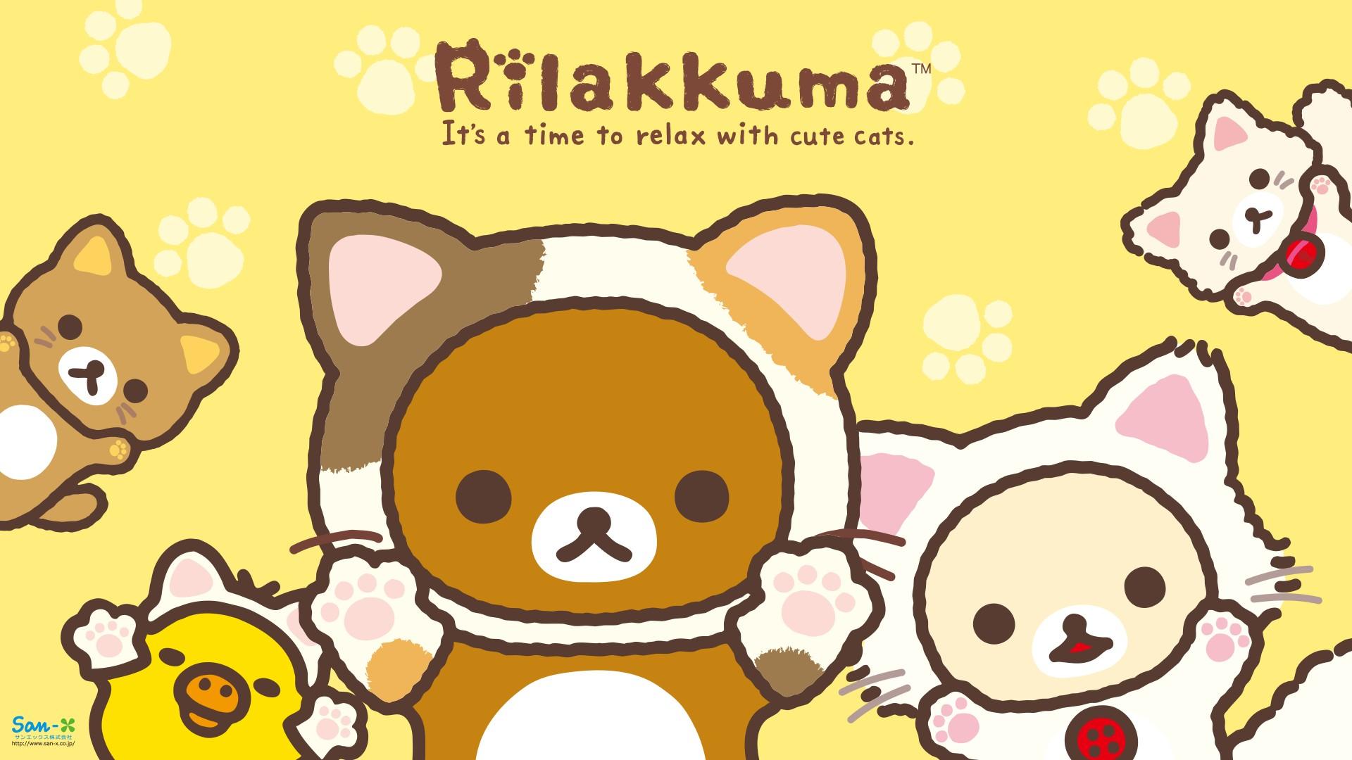 rilakkuma 3 wallpaper by - photo #25