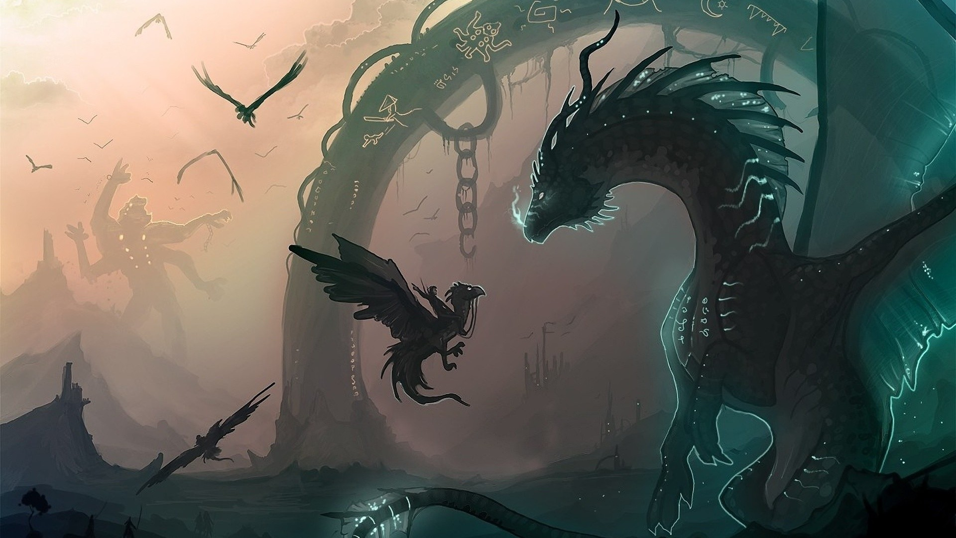 Dragon wallpaper hd 1080p download free amazing - Dragon backgrounds 1920x1080 ...
