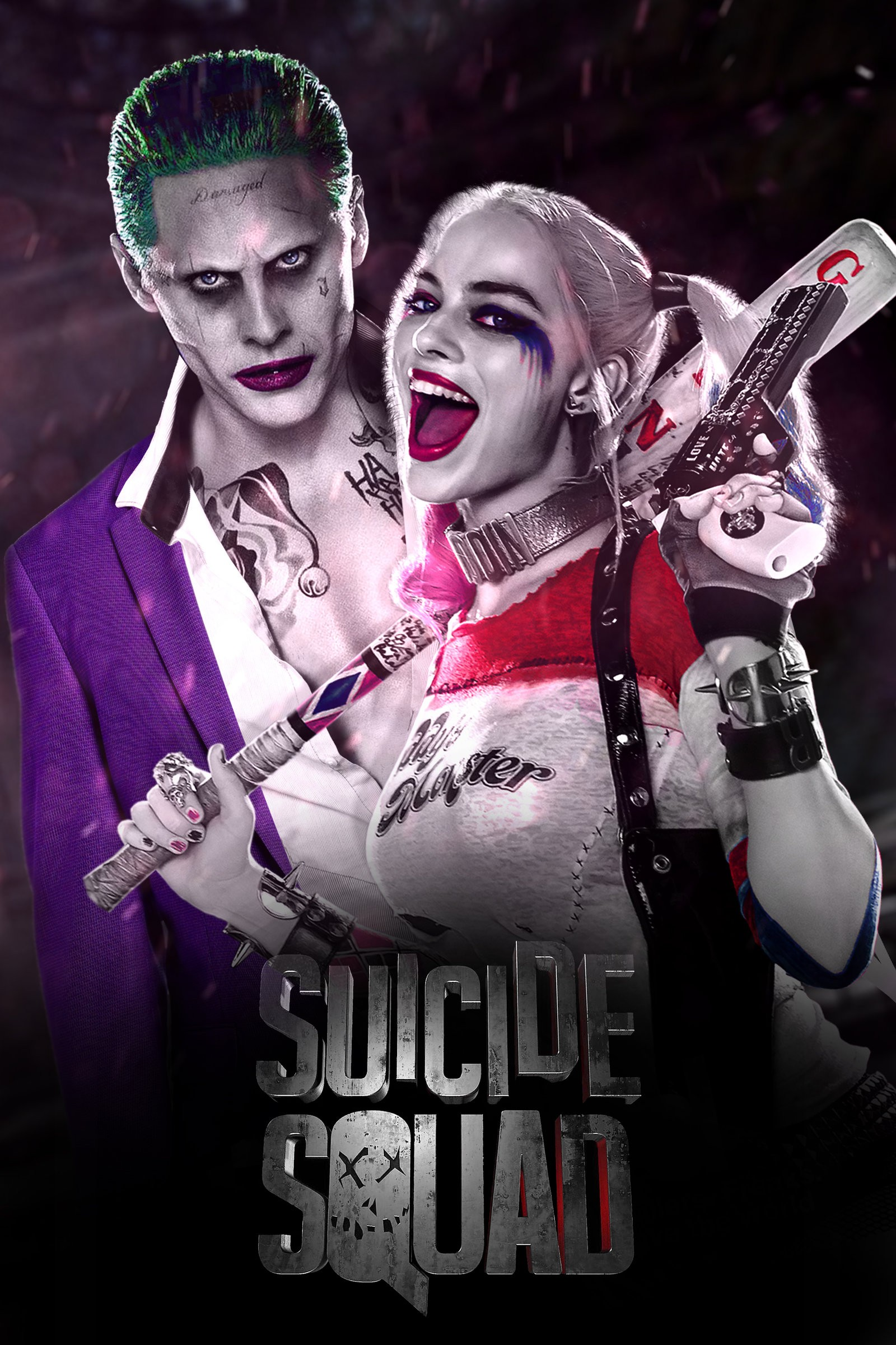 Harley Quinn And Joker Wallpaper Download Free Beautiful Full Hd