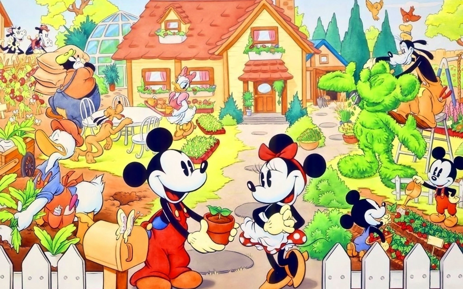 Disney thanksgiving desktop wallpaper