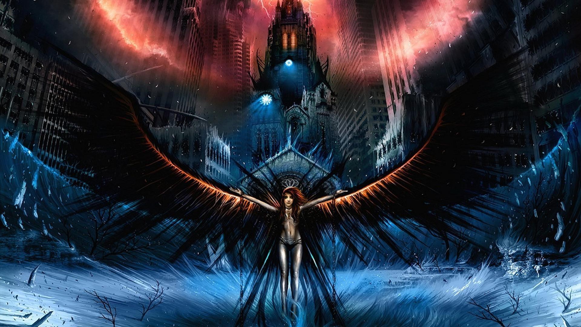 pics Angel dark