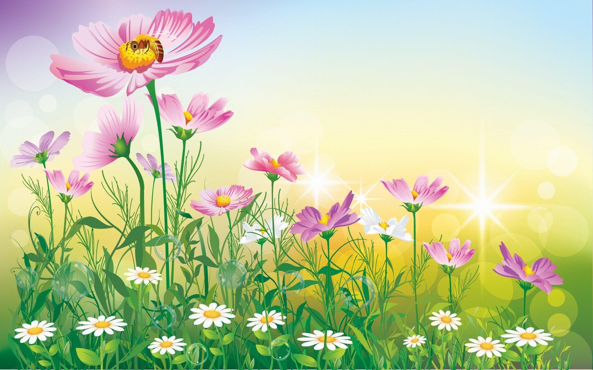 flower garden background 183��