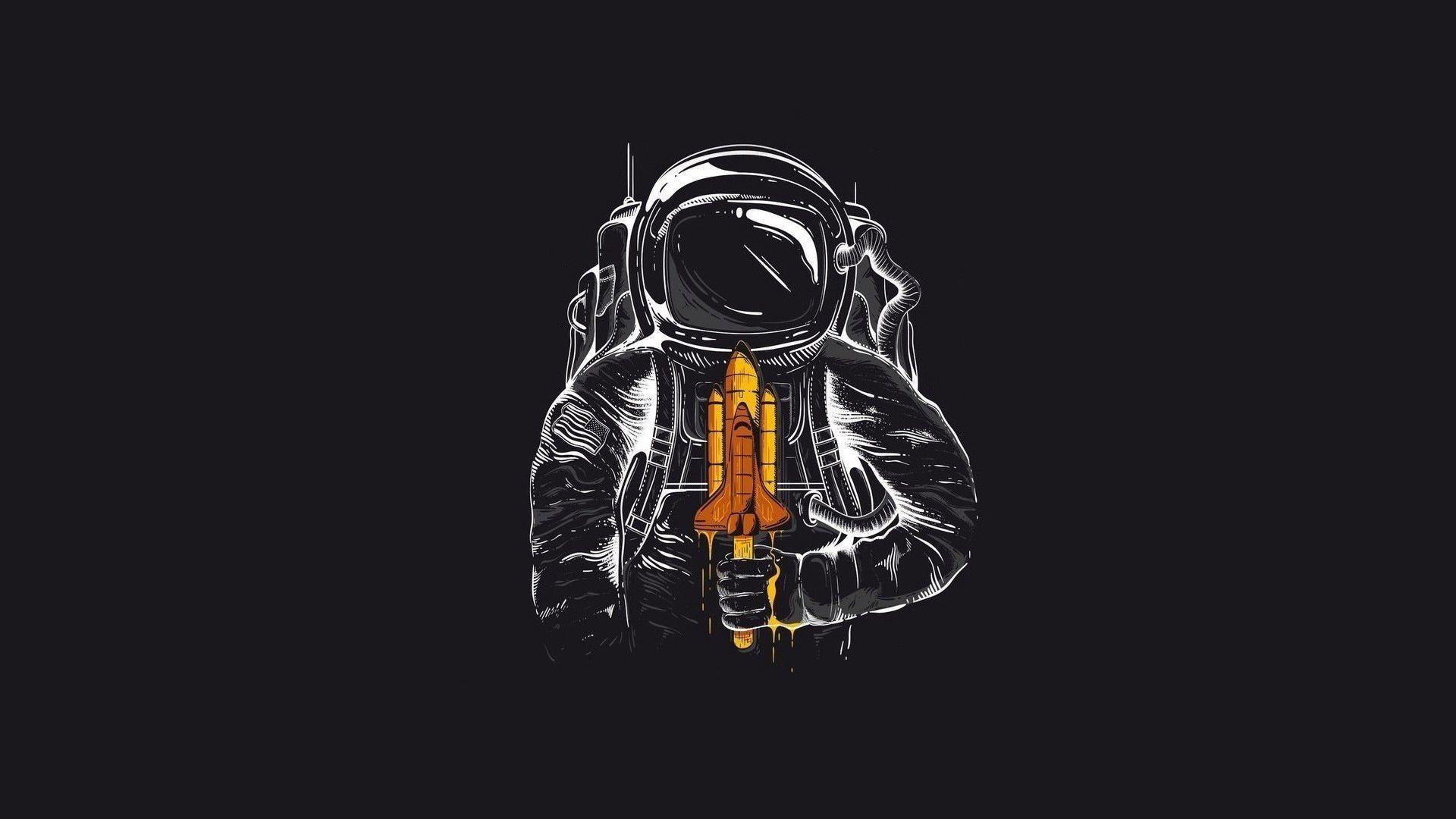 Космонавт  № 1449671  скачать