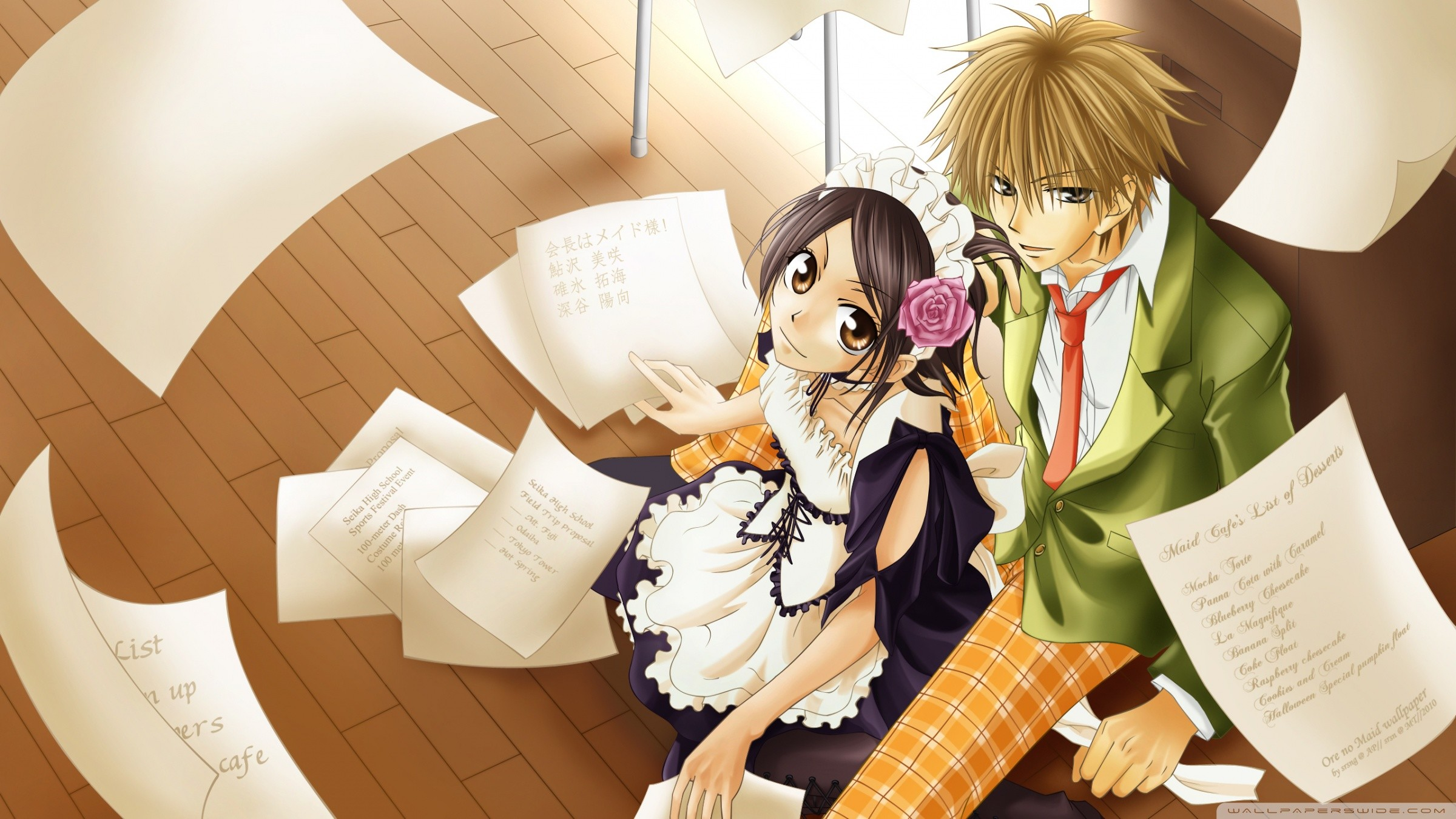 Maid Sama Wallpaper Wallpapertag