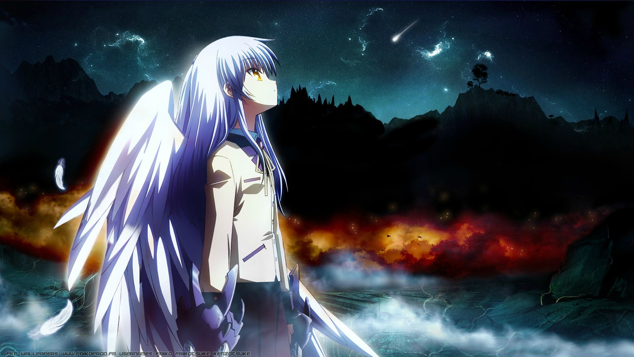 angel beats wallpaper 183�� download free amazing full hd