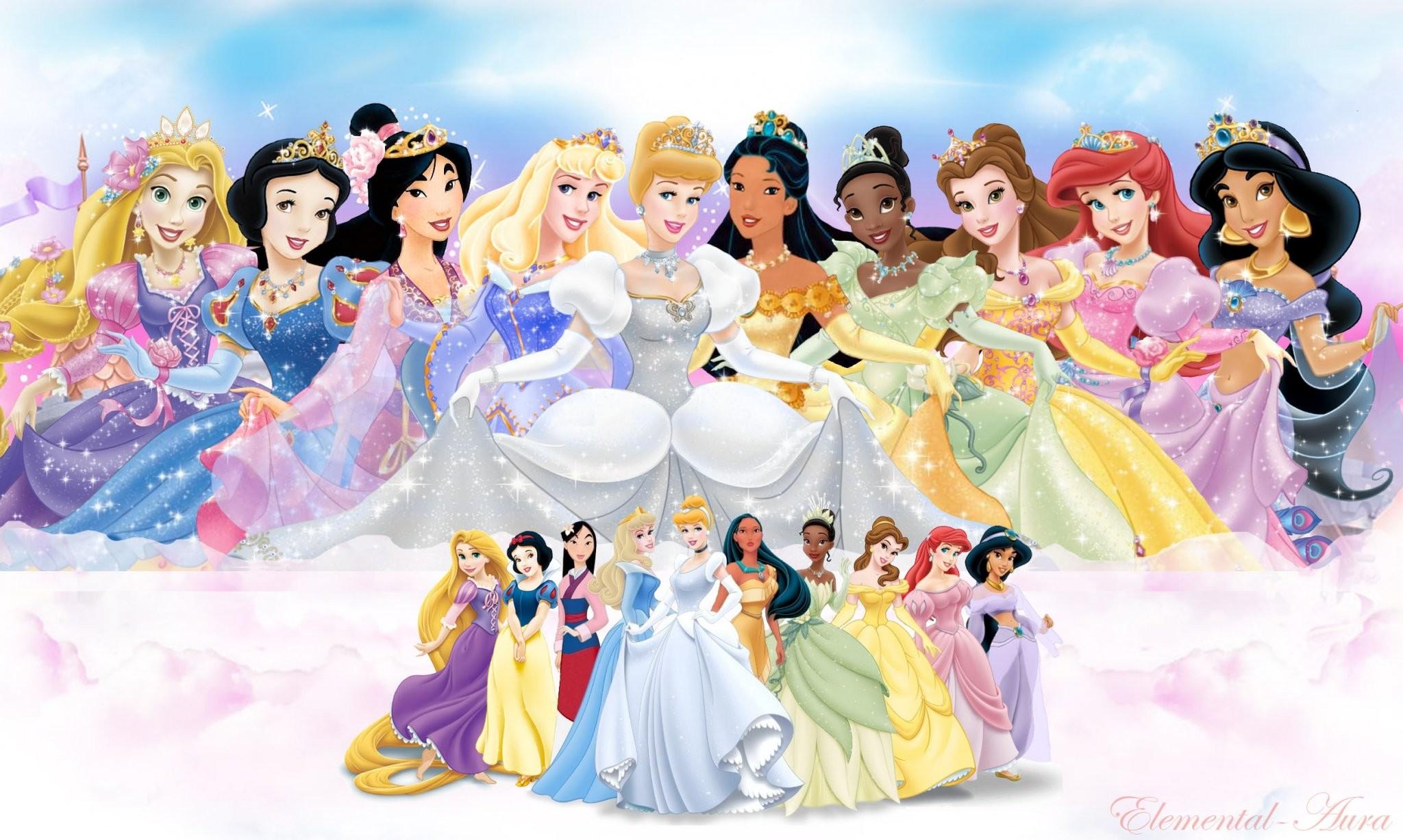 Disney Princesses Wallpaper 1