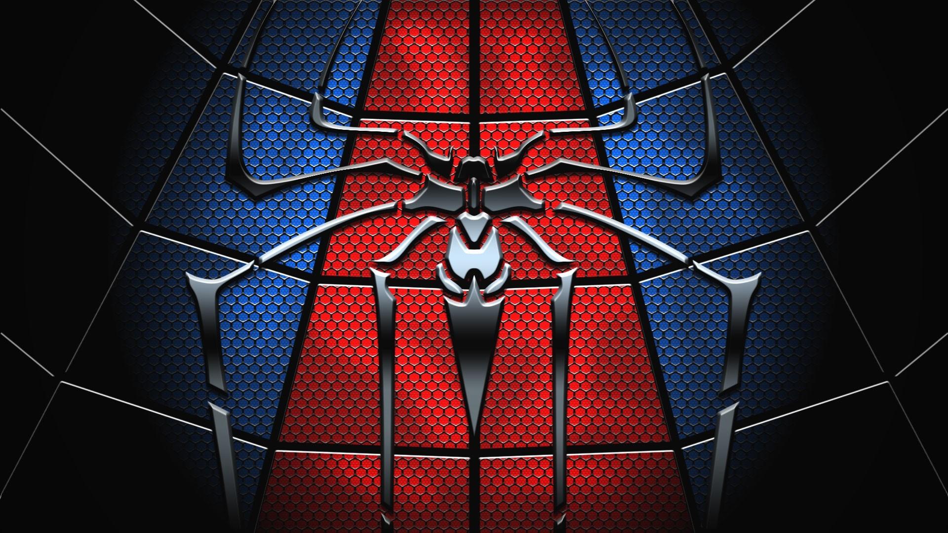 1920x1080 Black Spiderman Logo Cool Wallpapers