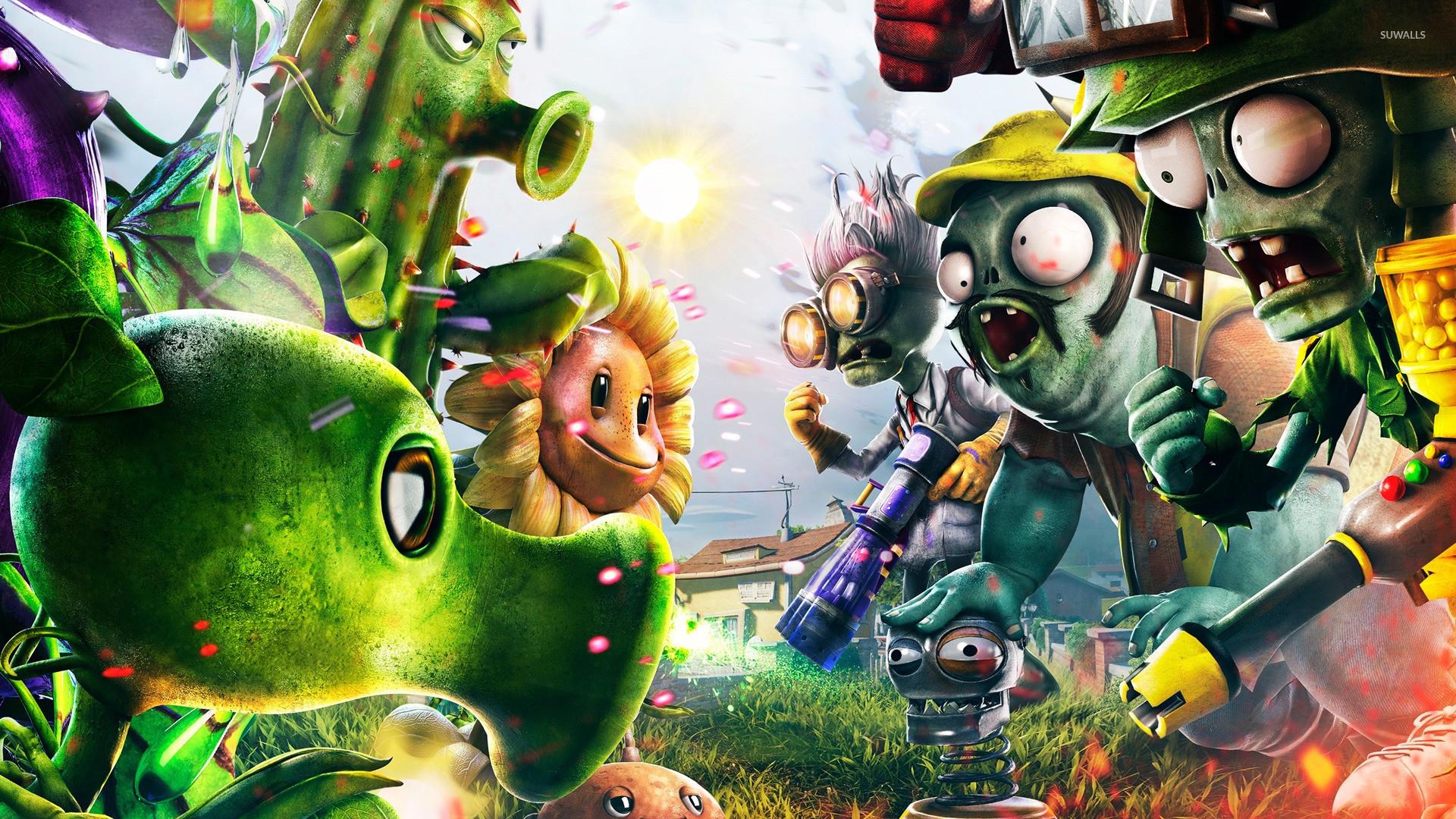 Plants Vs Zombies Wallpaper Wallpapertag