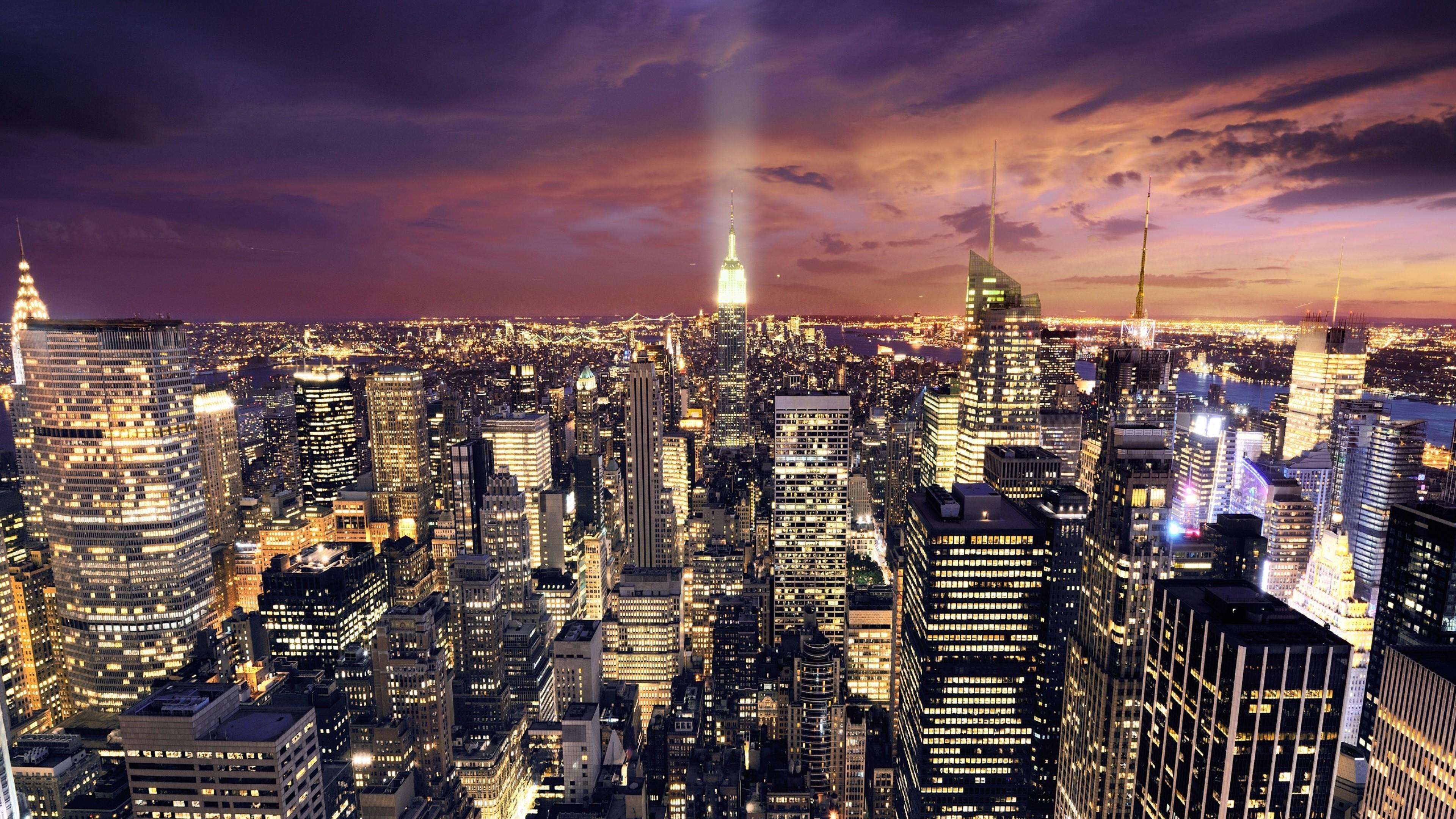 небоскребы ночь город  № 3358908 без смс