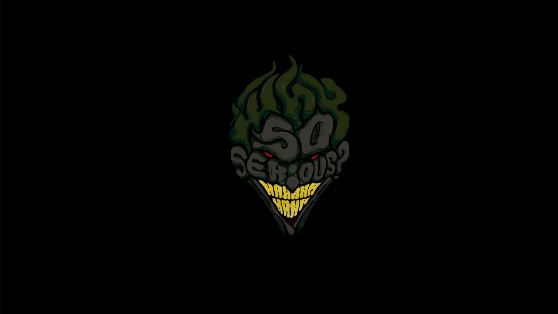 Joker Why So Serious Wallpaper 1
