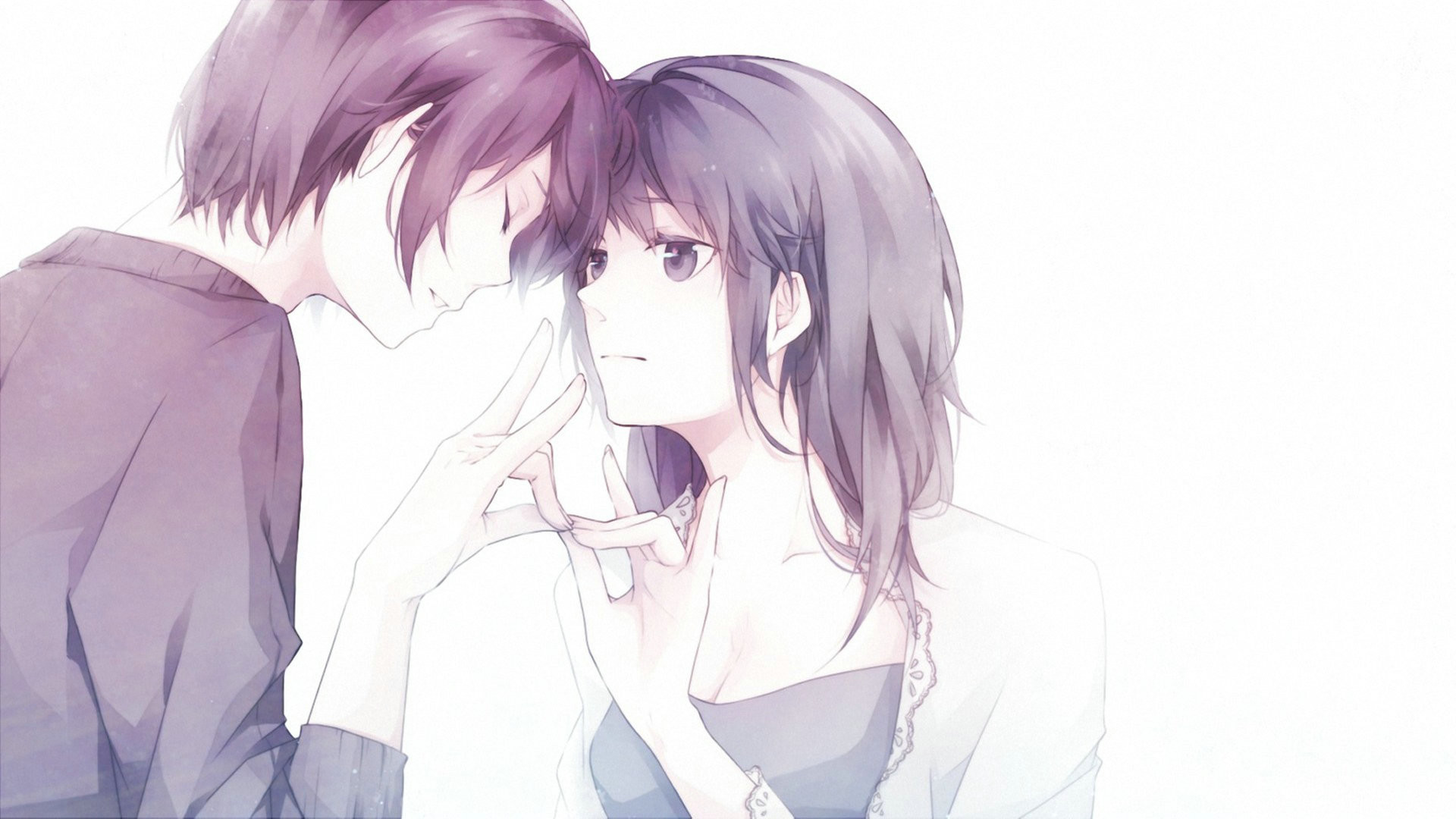 Couples anime wallpapers wallpapertag - Cute anime couple wallpaper ...