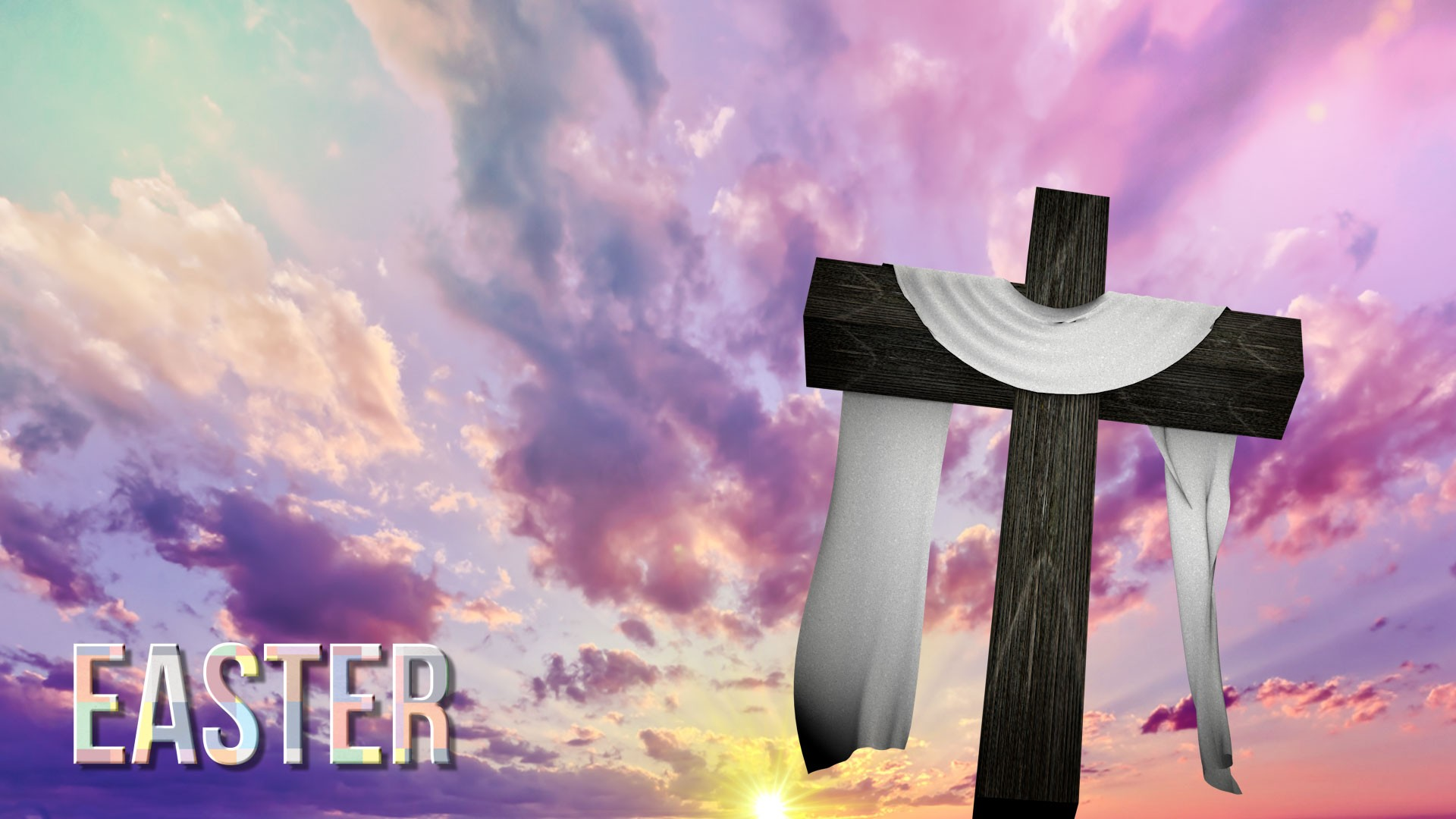 33 easter worship backgrounds download free beautiful - Religious easter wallpaper ...