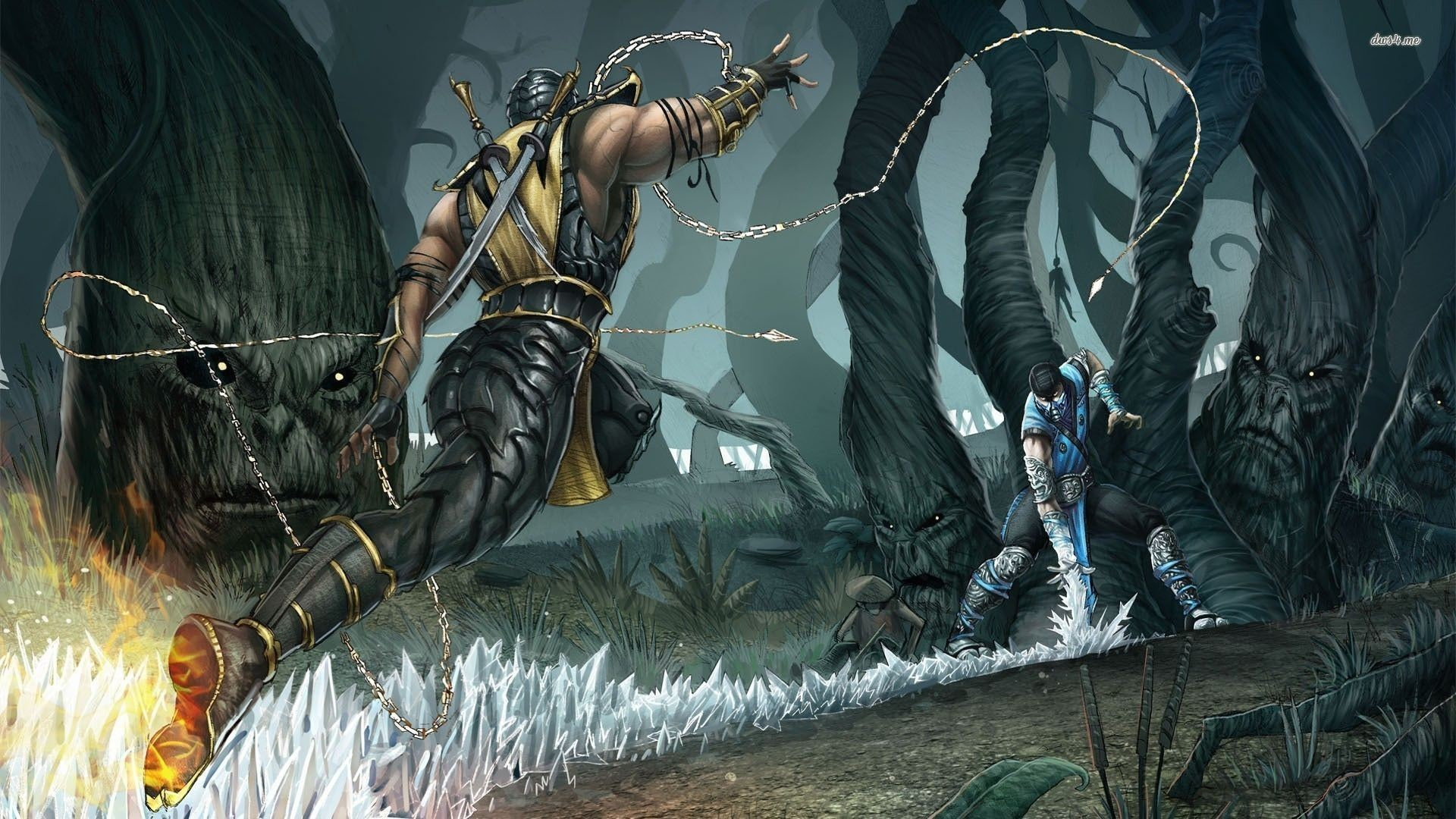 Mortal Kombat XL - Sub Zero vs Scorpion Trailer (Deutsch