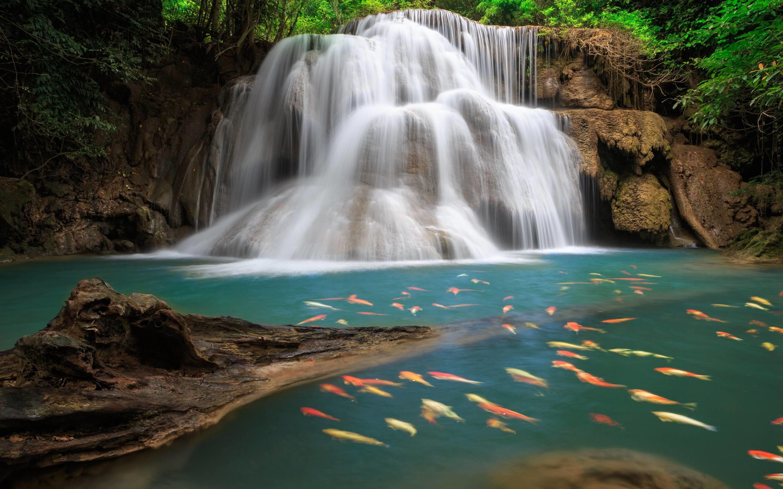 2880x1800 funmozar waterfall wallpapers