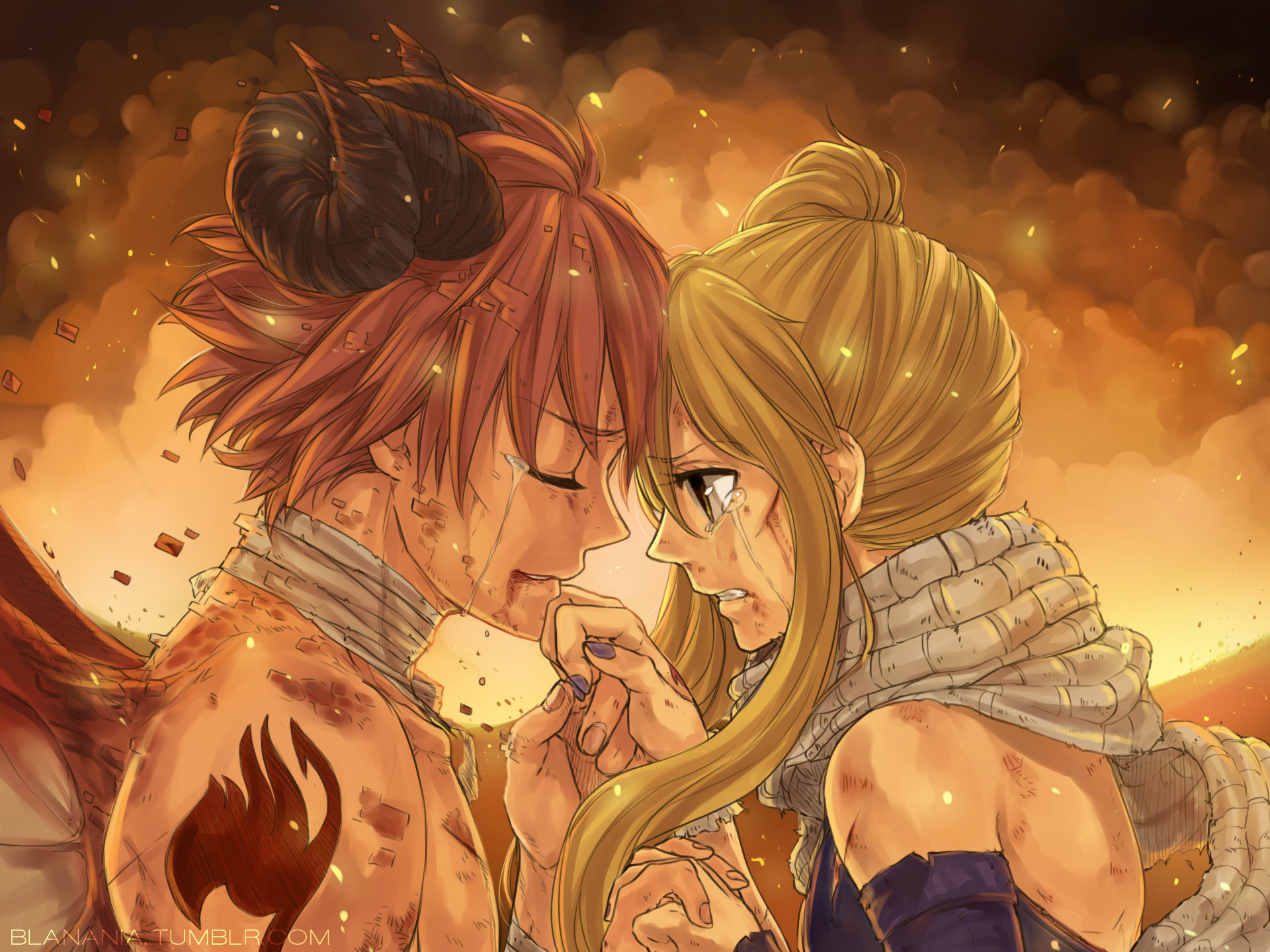 Natsu And Lucy Wallpapers Wallpapertag