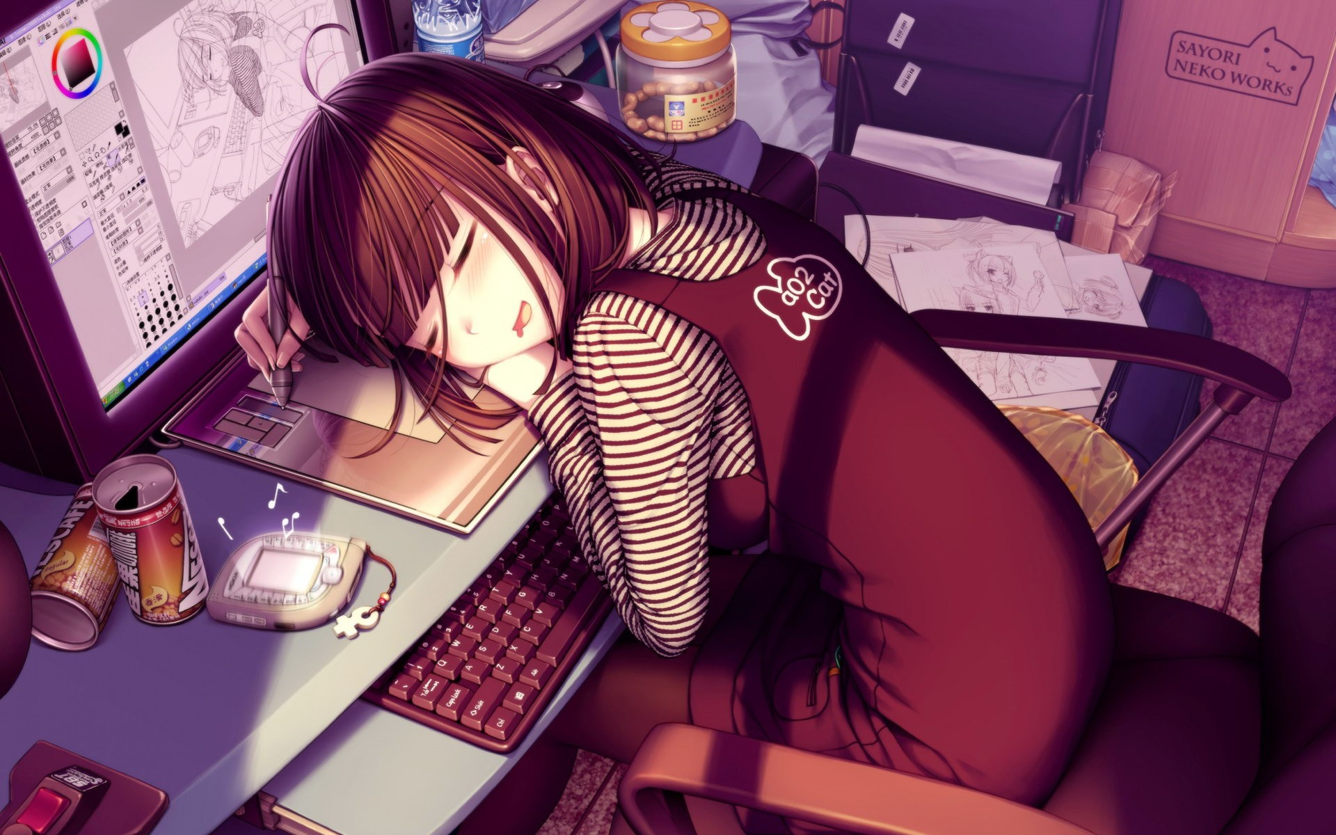 Anime Girls Wallpaper Download Free Beautiful Backgrounds For