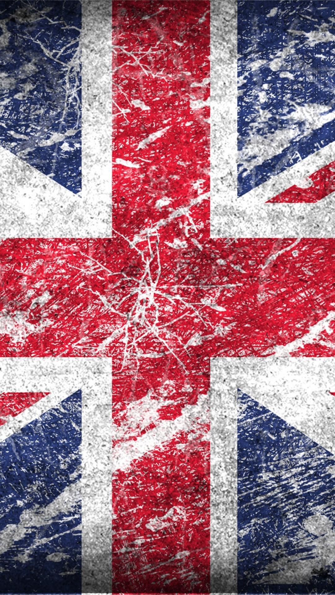 UK Flag Wallpaper ·①