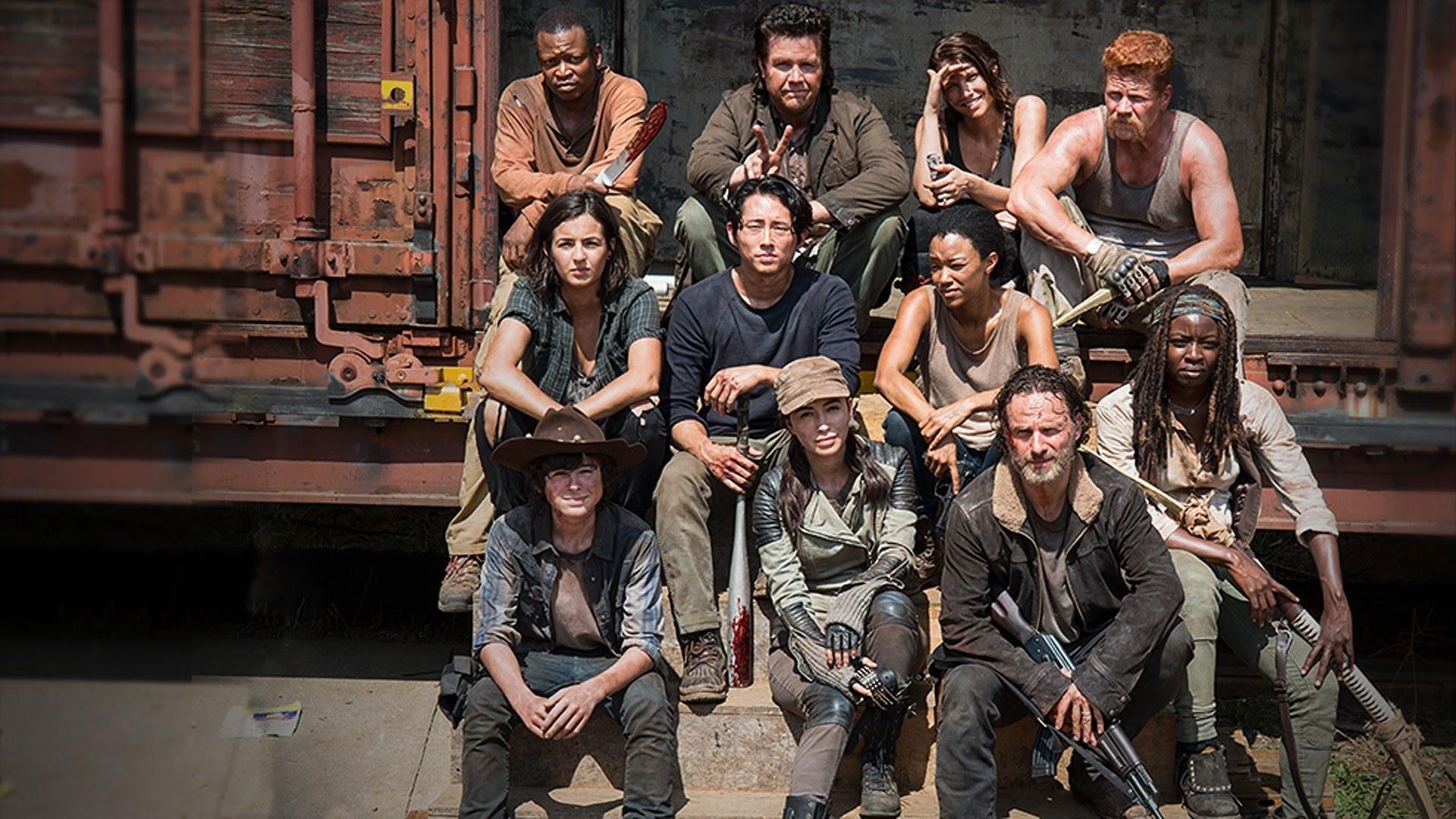 The Walking Dead Season 5 Wallpaper Wallpapertag
