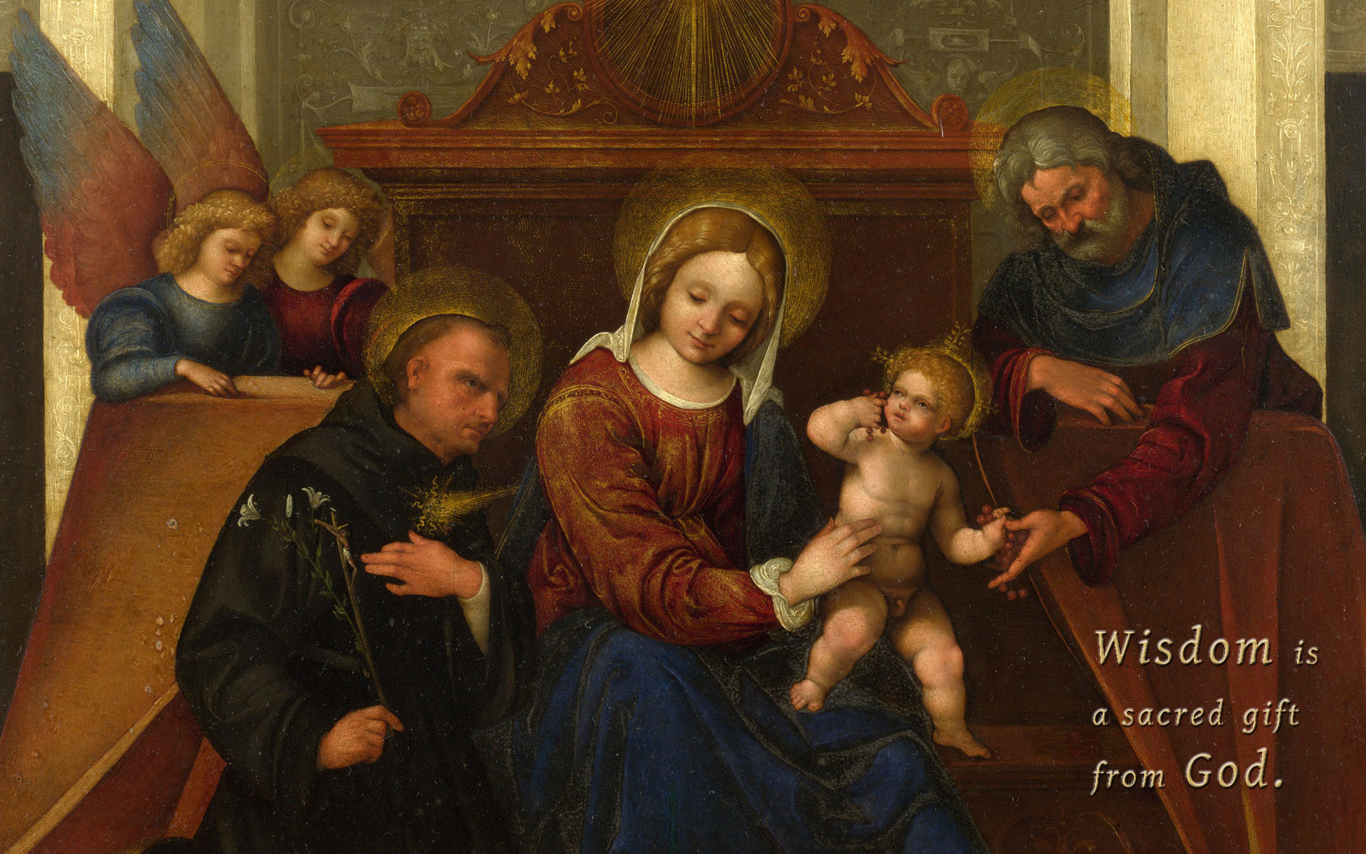 Mary Mother Of God Wallpaper ①