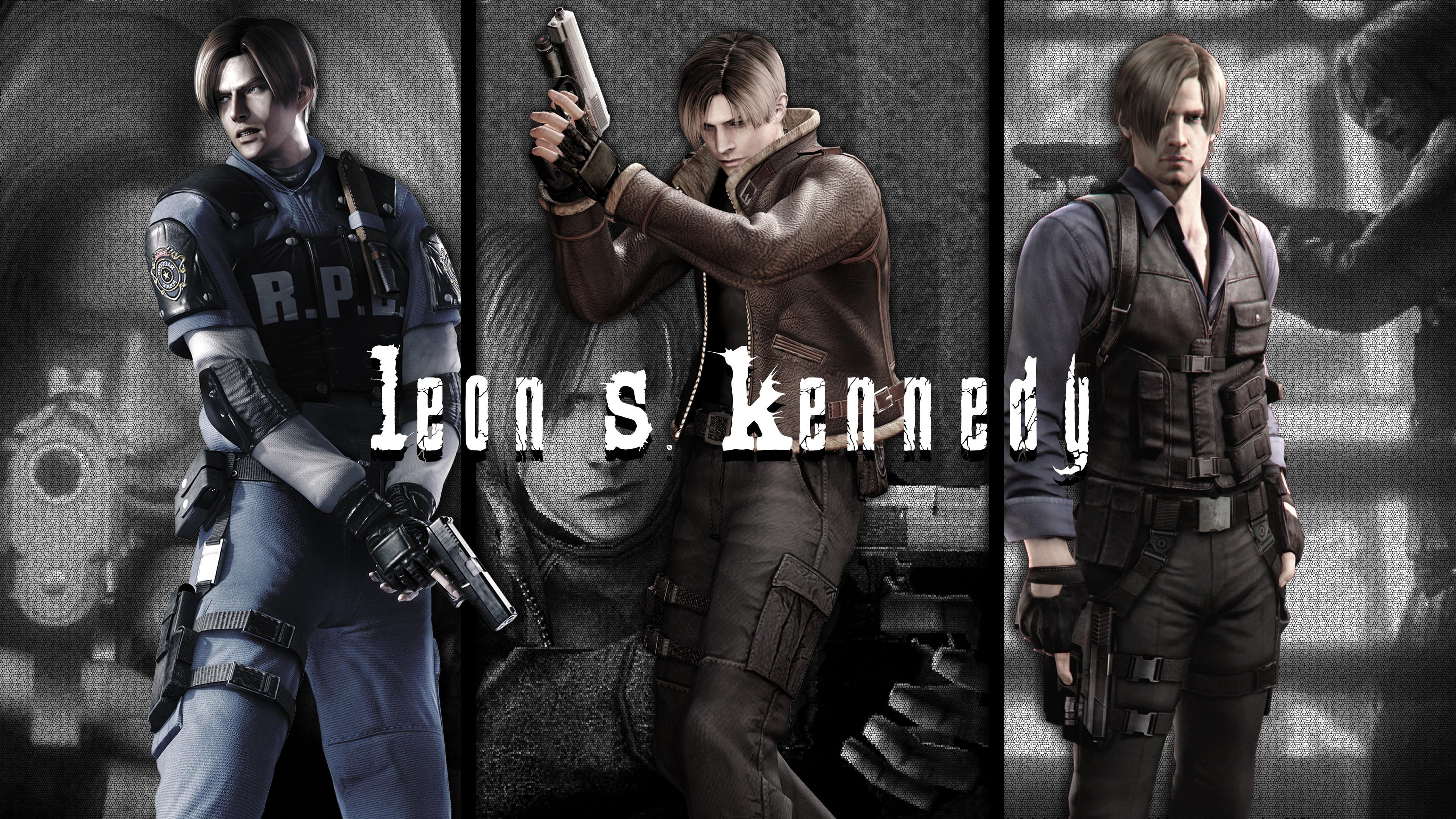 Resident Evil 4 Leon Wallpaper Wallpapertag