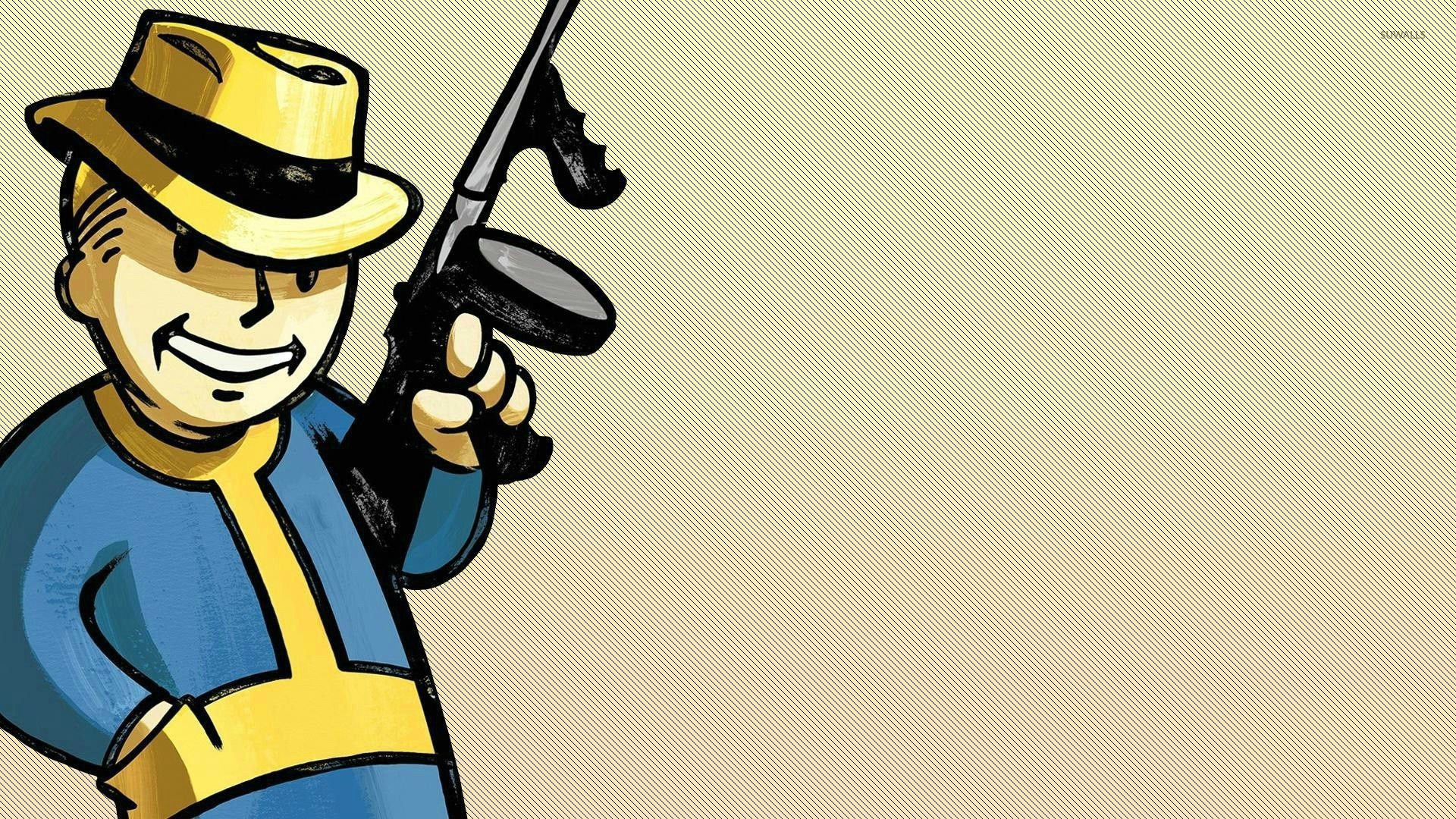Fallout Vault Boy Wallpaper Download Free Amazing High