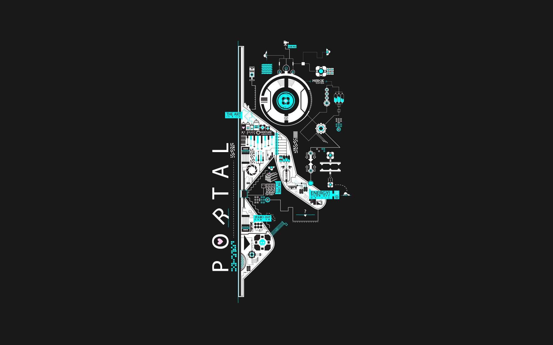 Portal Wallpaper ·① Download Free Stunning HD Backgrounds