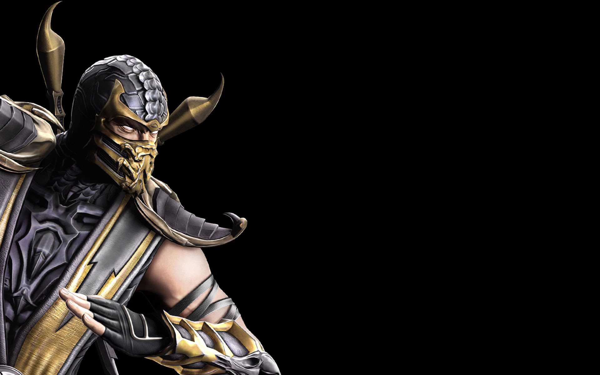 Mortal Kombat 9 Scorpion Wallpaper 1