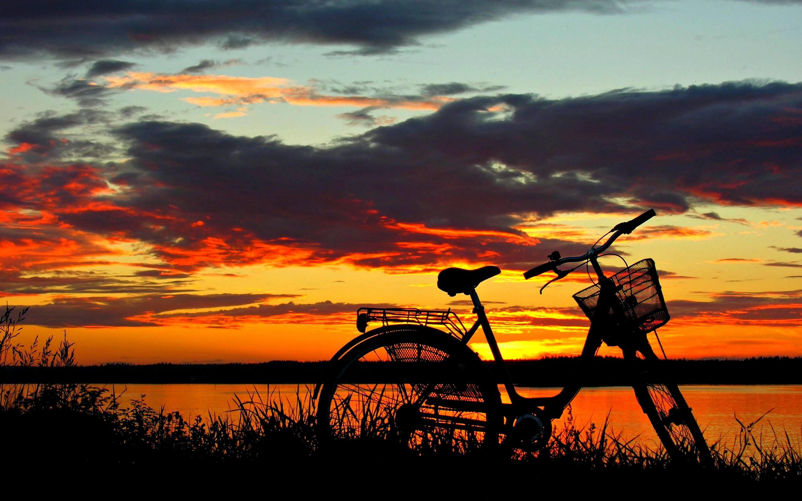 beautiful sunset wallpaper ·①