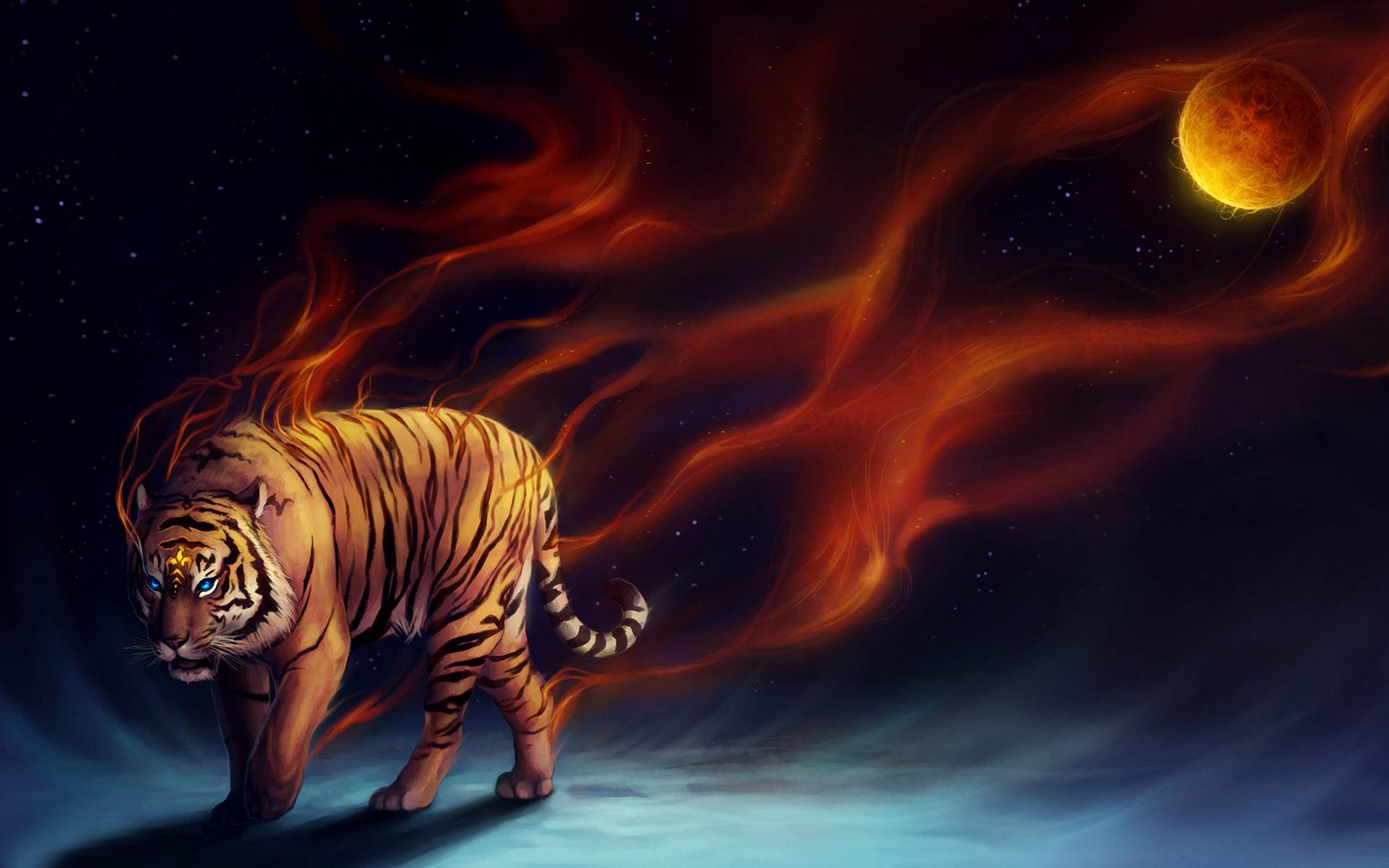 Fantasy Tiger Hd Desktop Wallpapers Widescreen High: Cool Tiger Wallpapers ·① WallpaperTag