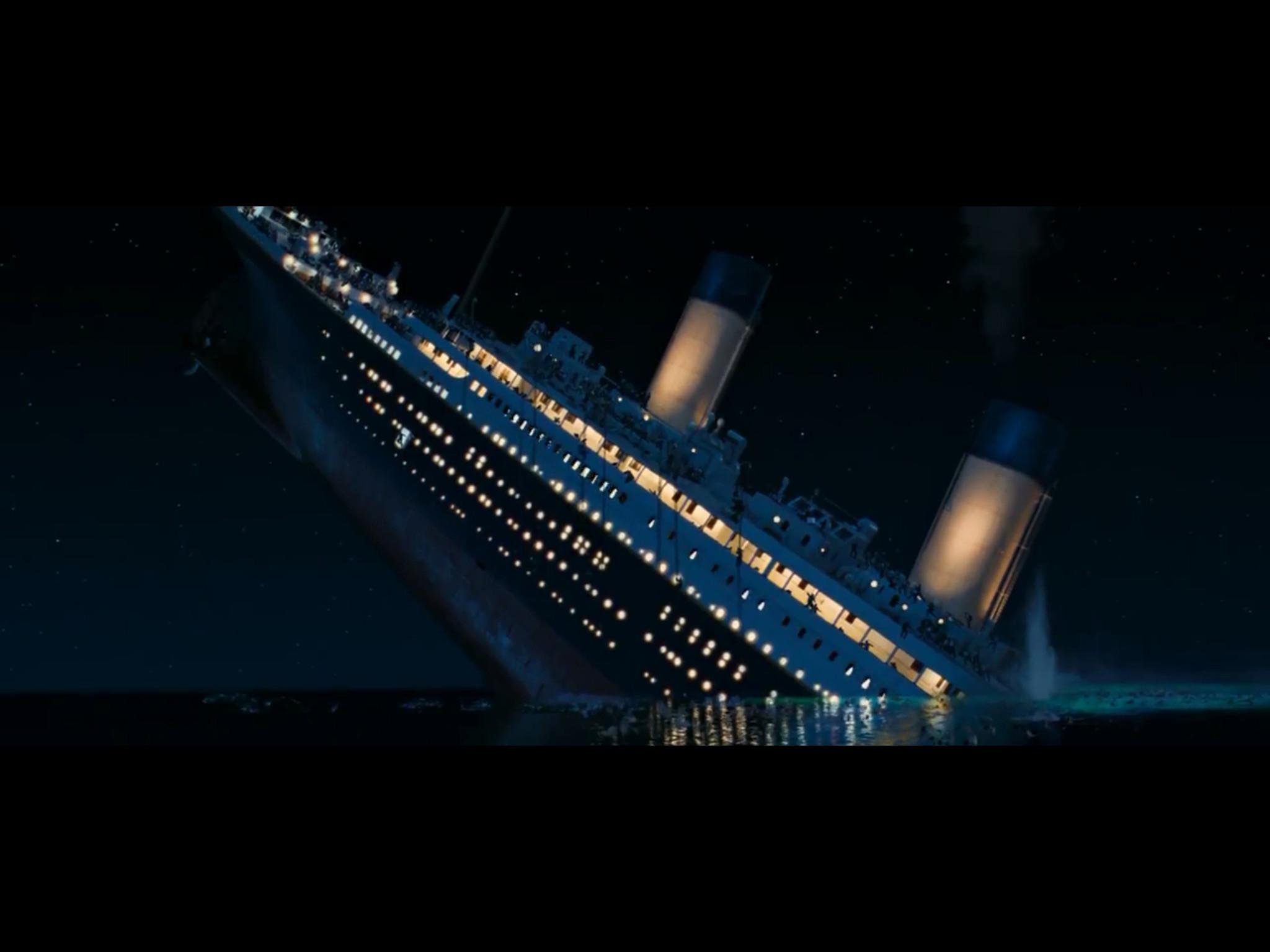 Titanic Sinking Wallpaper 183 '�