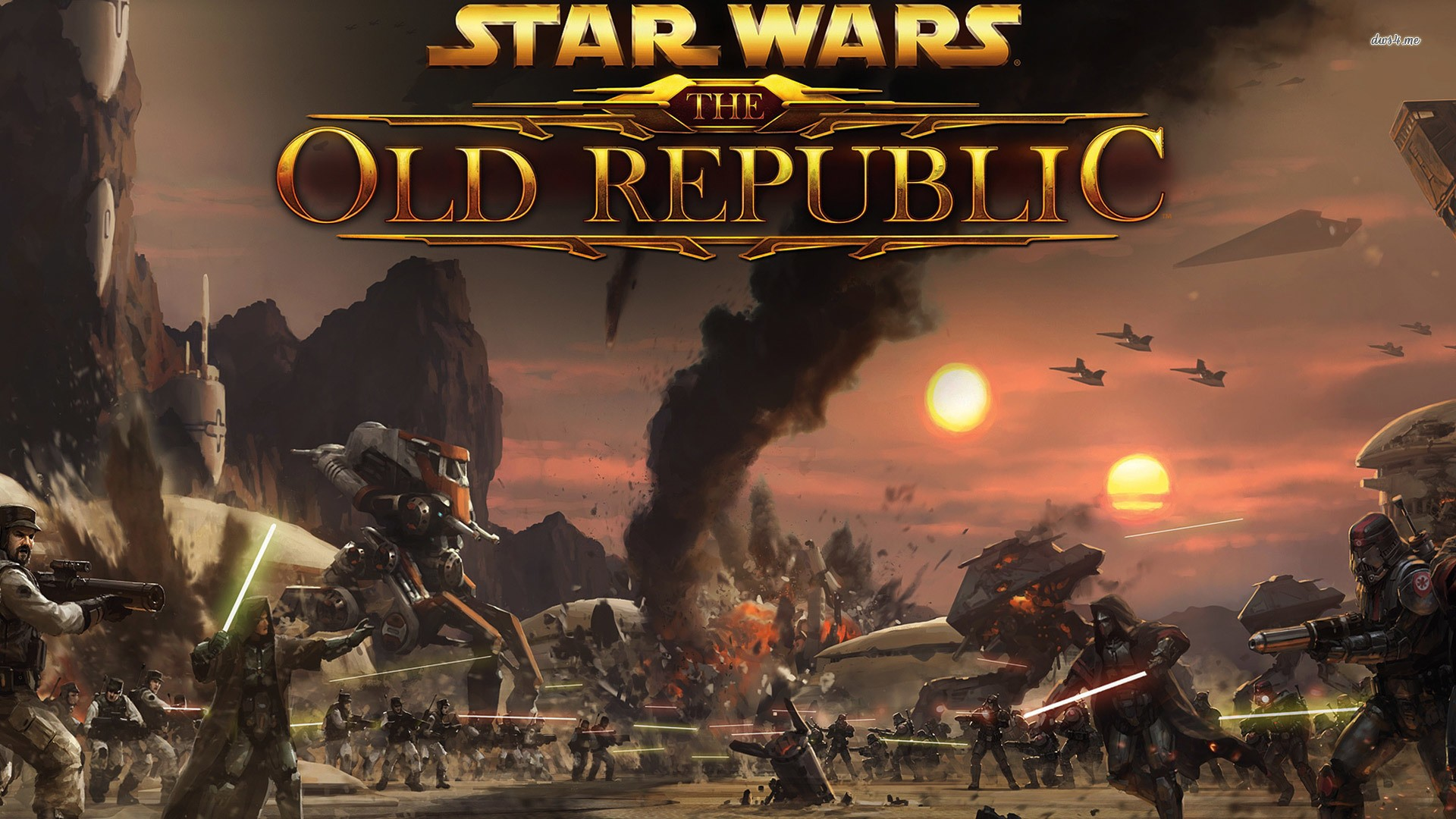 Star Wars The Old Republic Wallpaper Download Free Hd