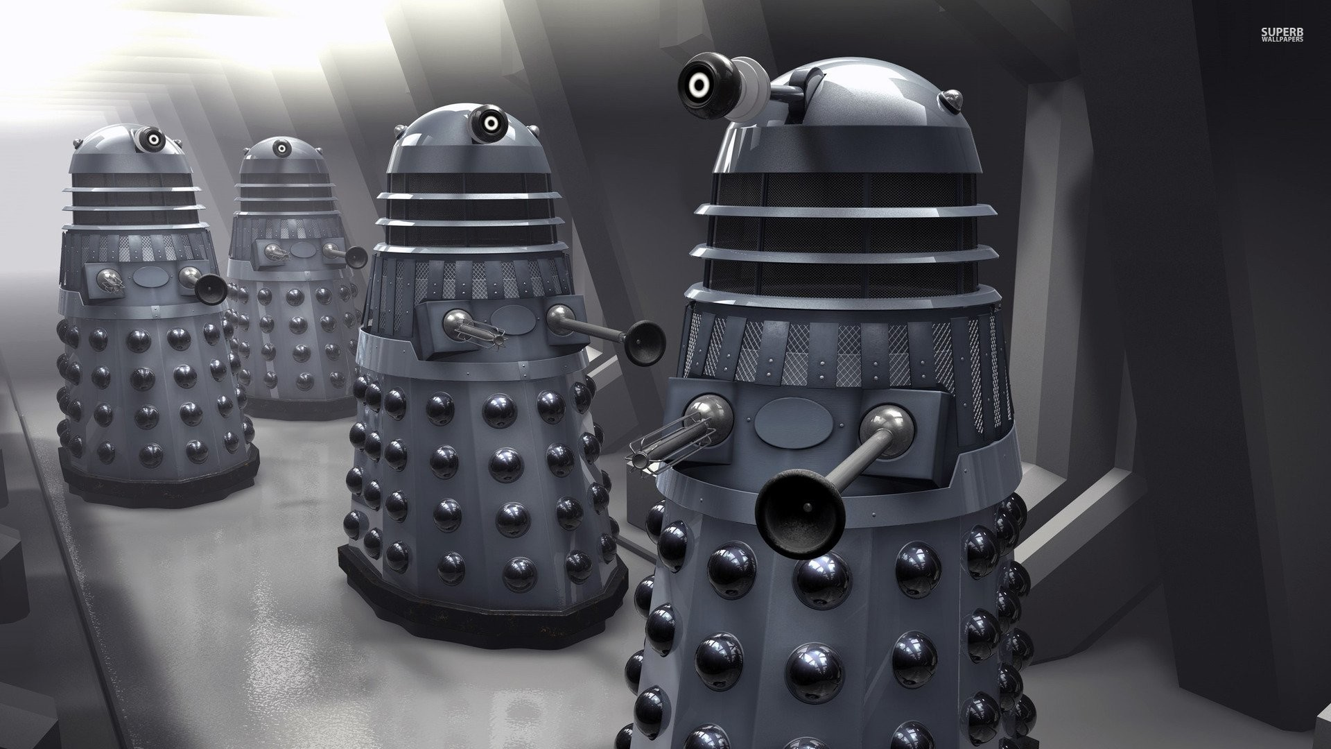 Doctor Who Wallpaper Dalek Exterminate Dalek Wallpaper ·...
