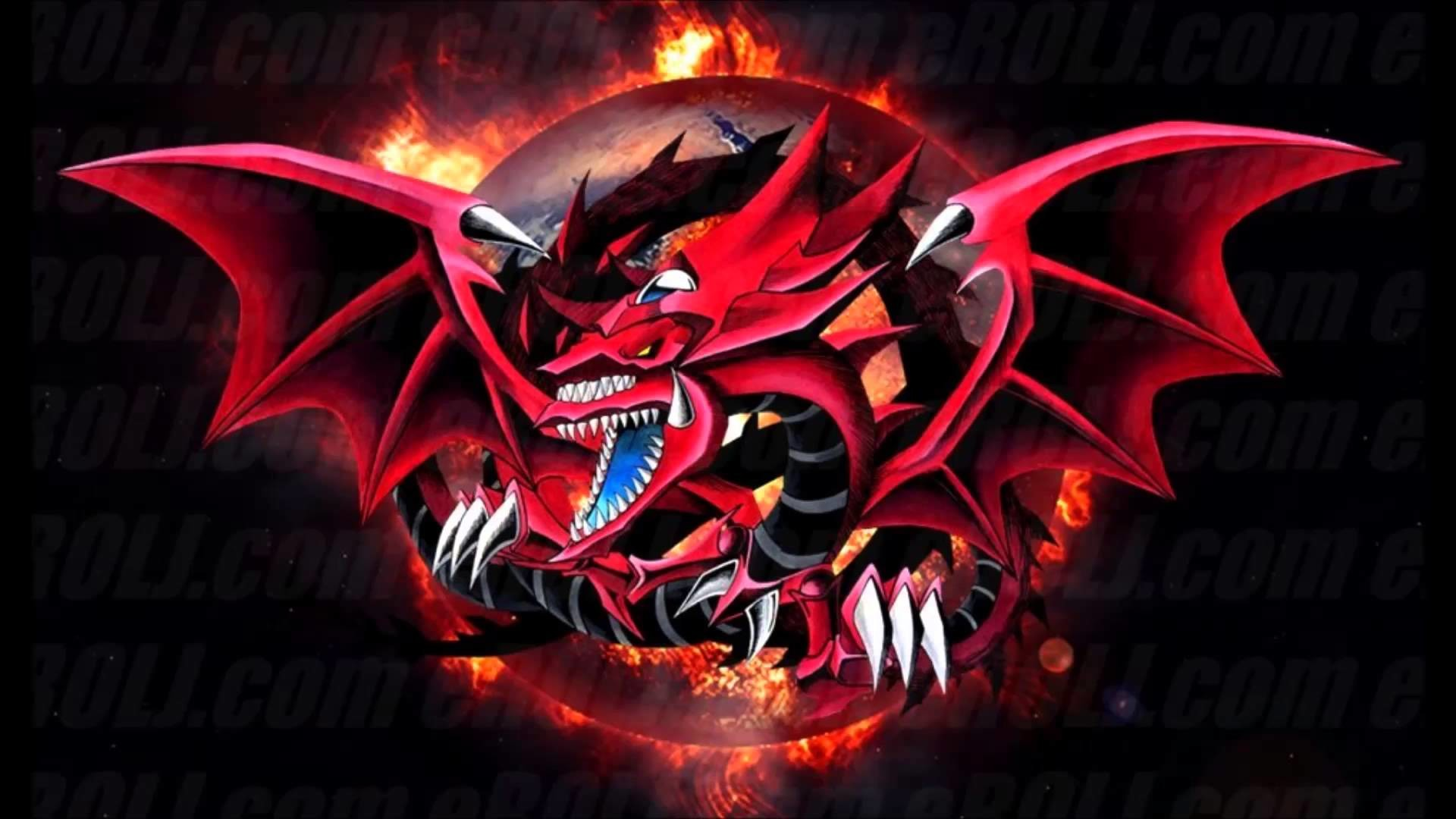 Yugioh Slifer The Sky Dragon Wallpaper Wallpapertag