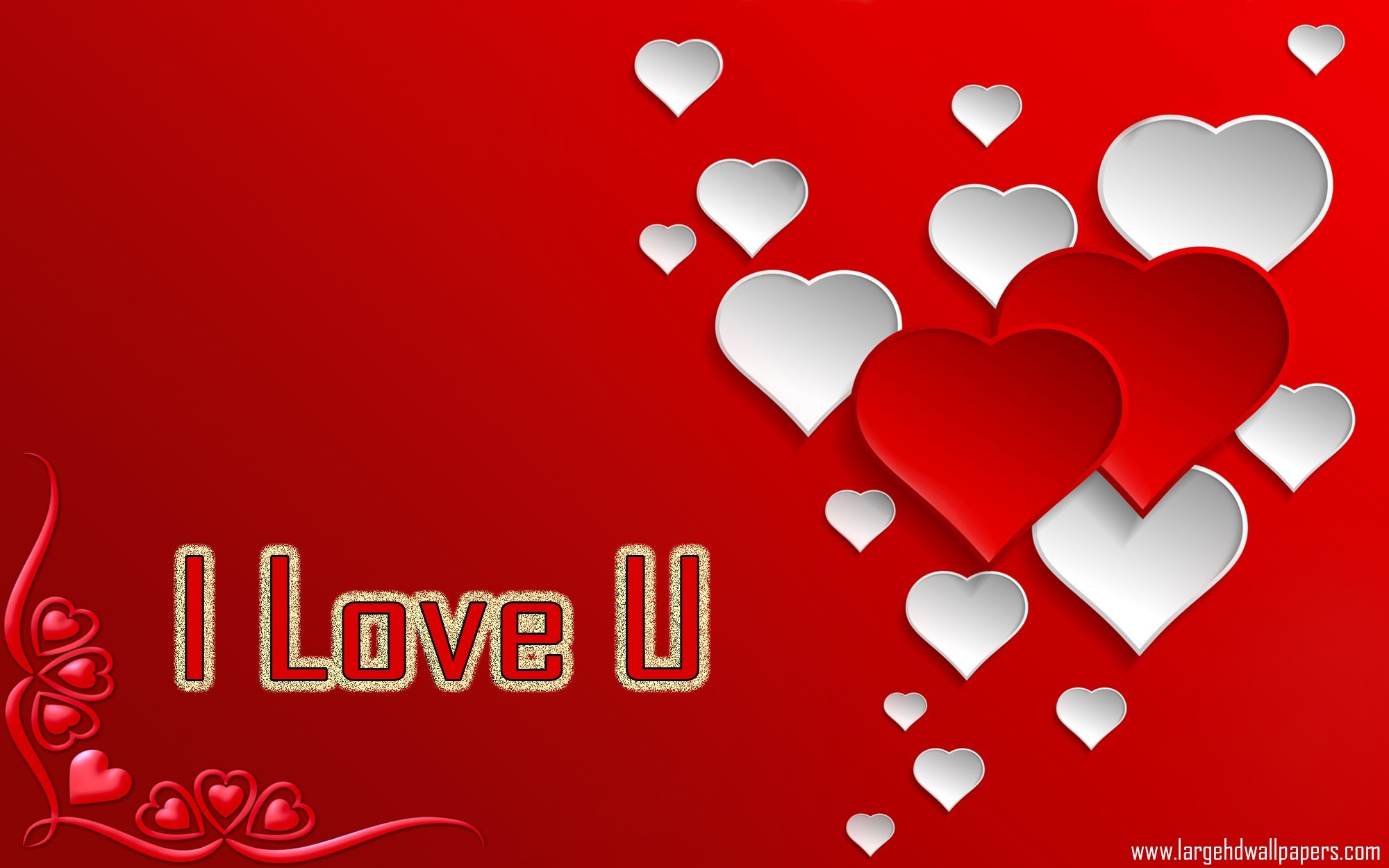 Love Wallpaper U And Me : I Love U Images Wallpapers ??