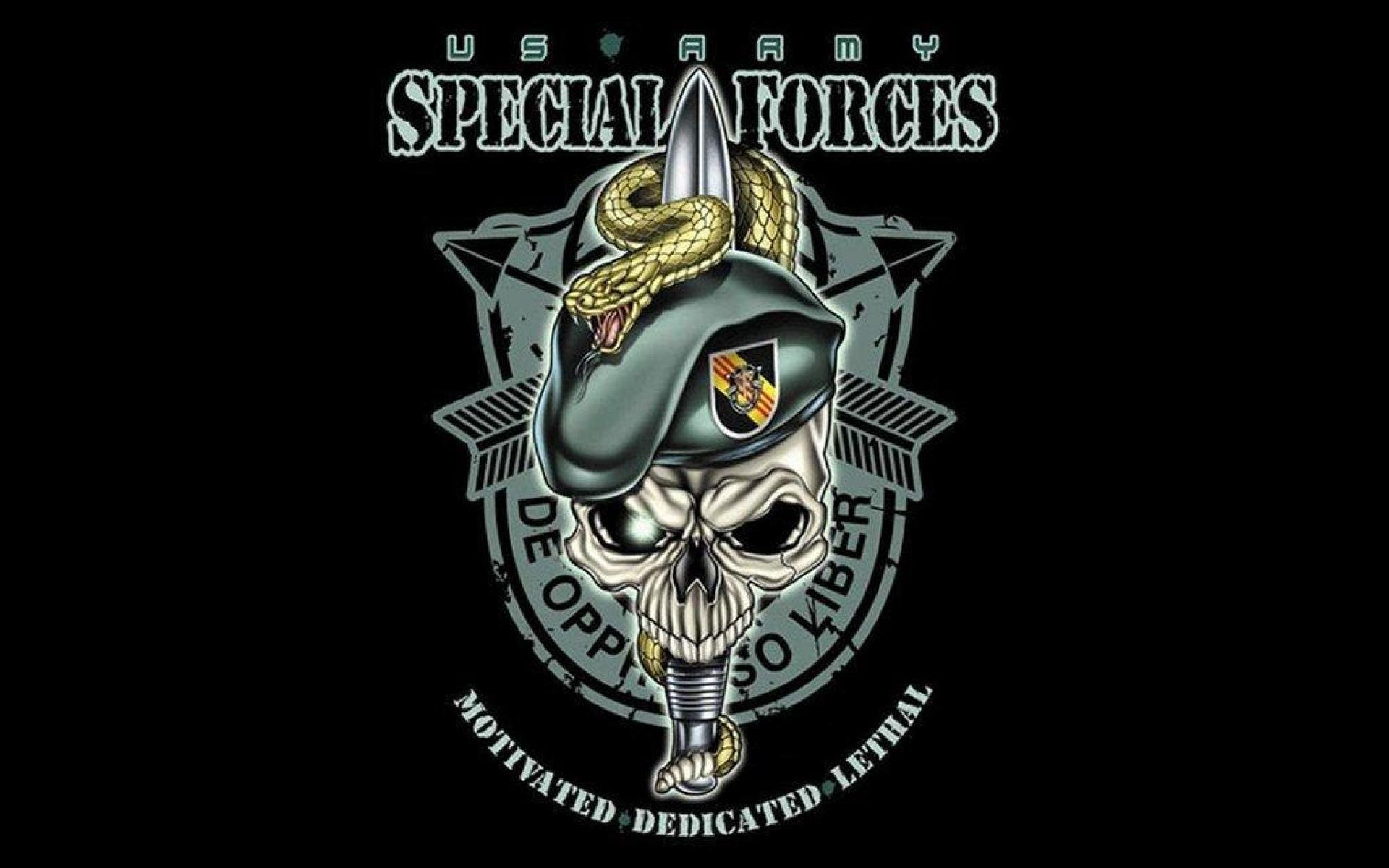 Special Forces Logo Wallpaper ·①