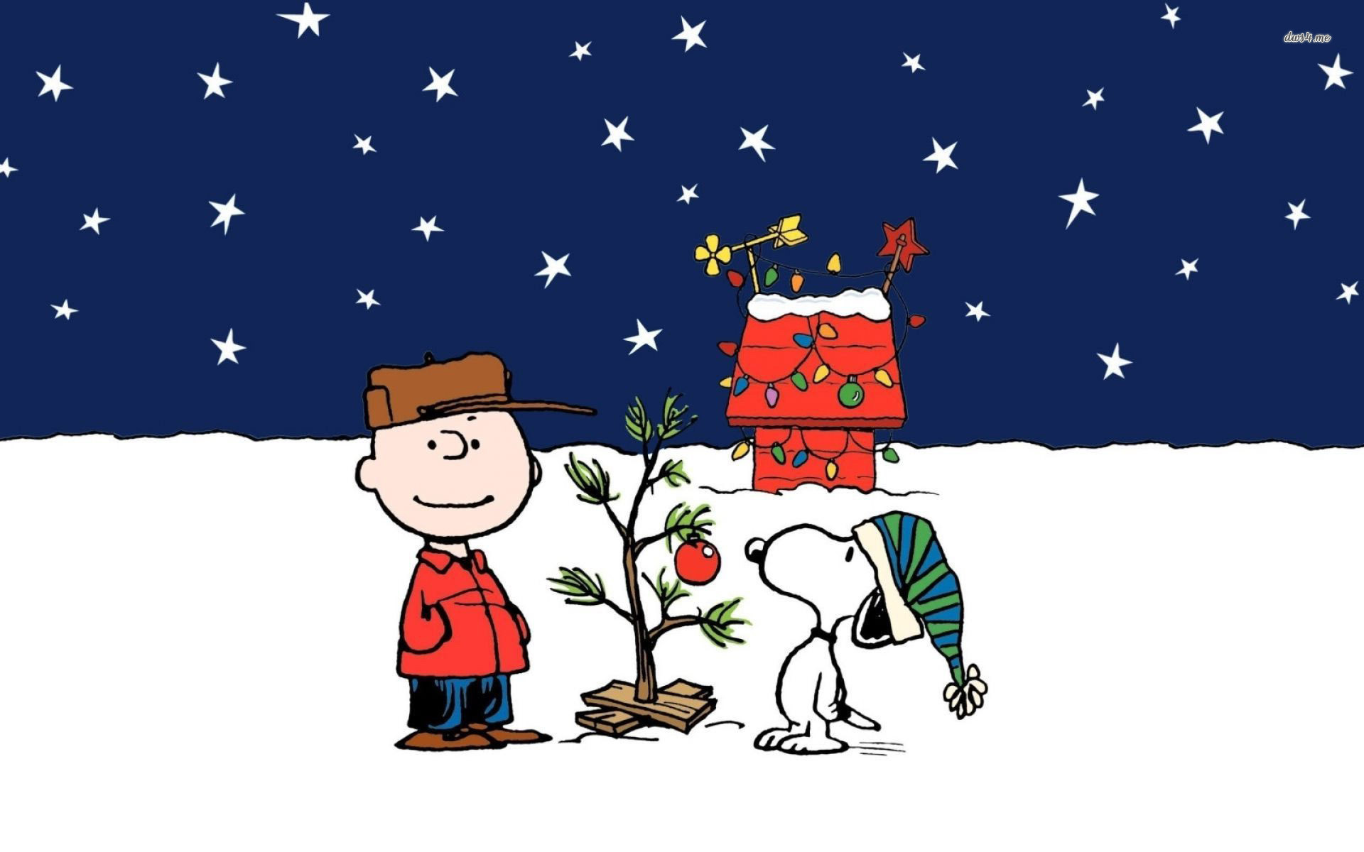 Snoopy Christmas Wallpaper ·â'
