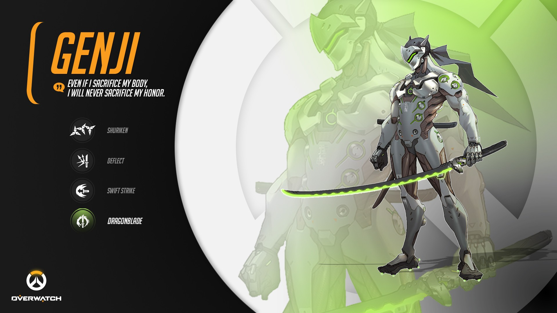 Genji Overwatch Wallpaper Download Free Beautiful Full Hd