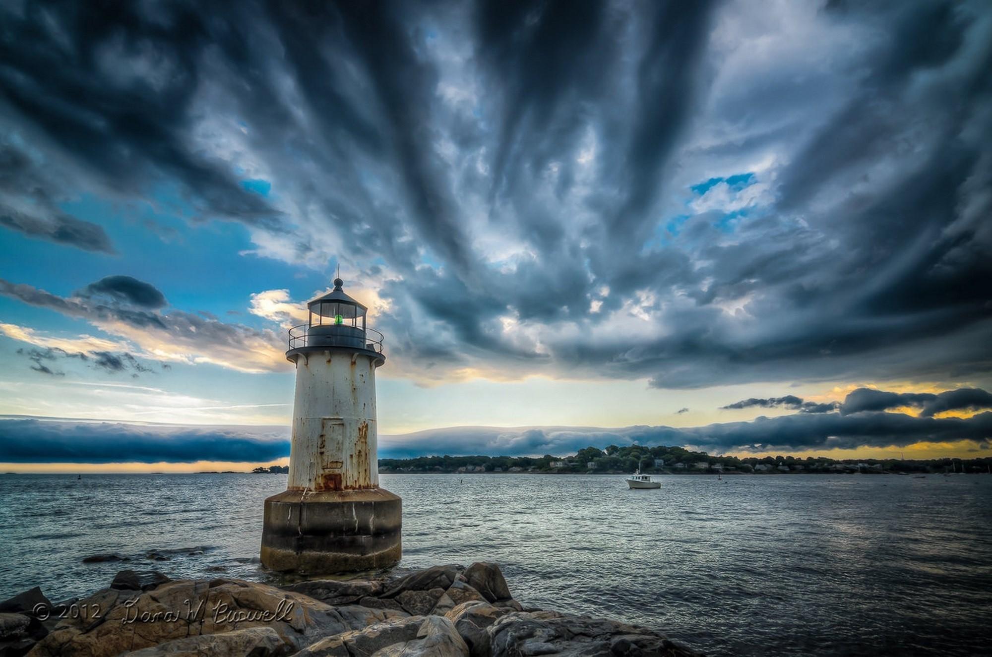 маяк небо море дом  № 3968858 без смс