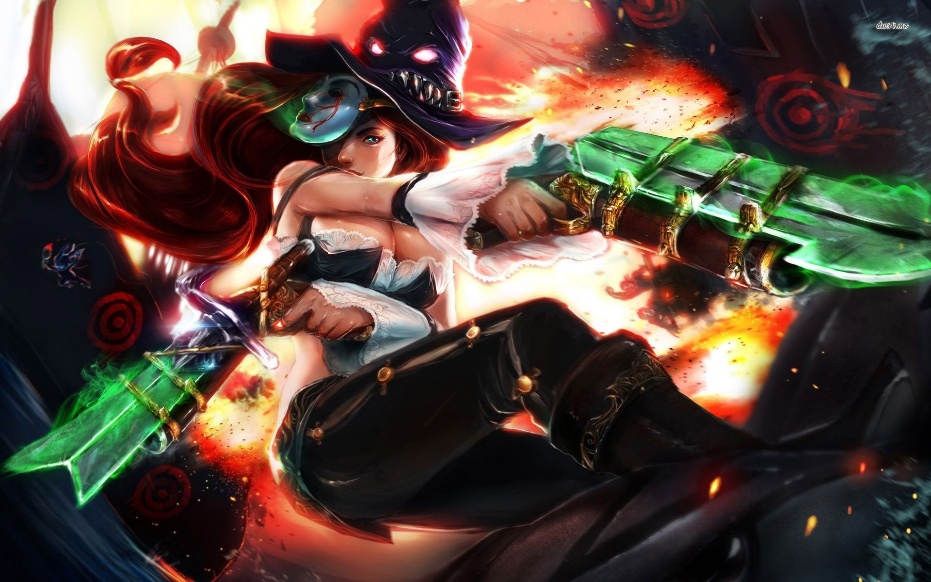 League Of Legends Miss Fortune Wallpaper: Miss Fortune Wallpaper ·① Download Free Stunning HD