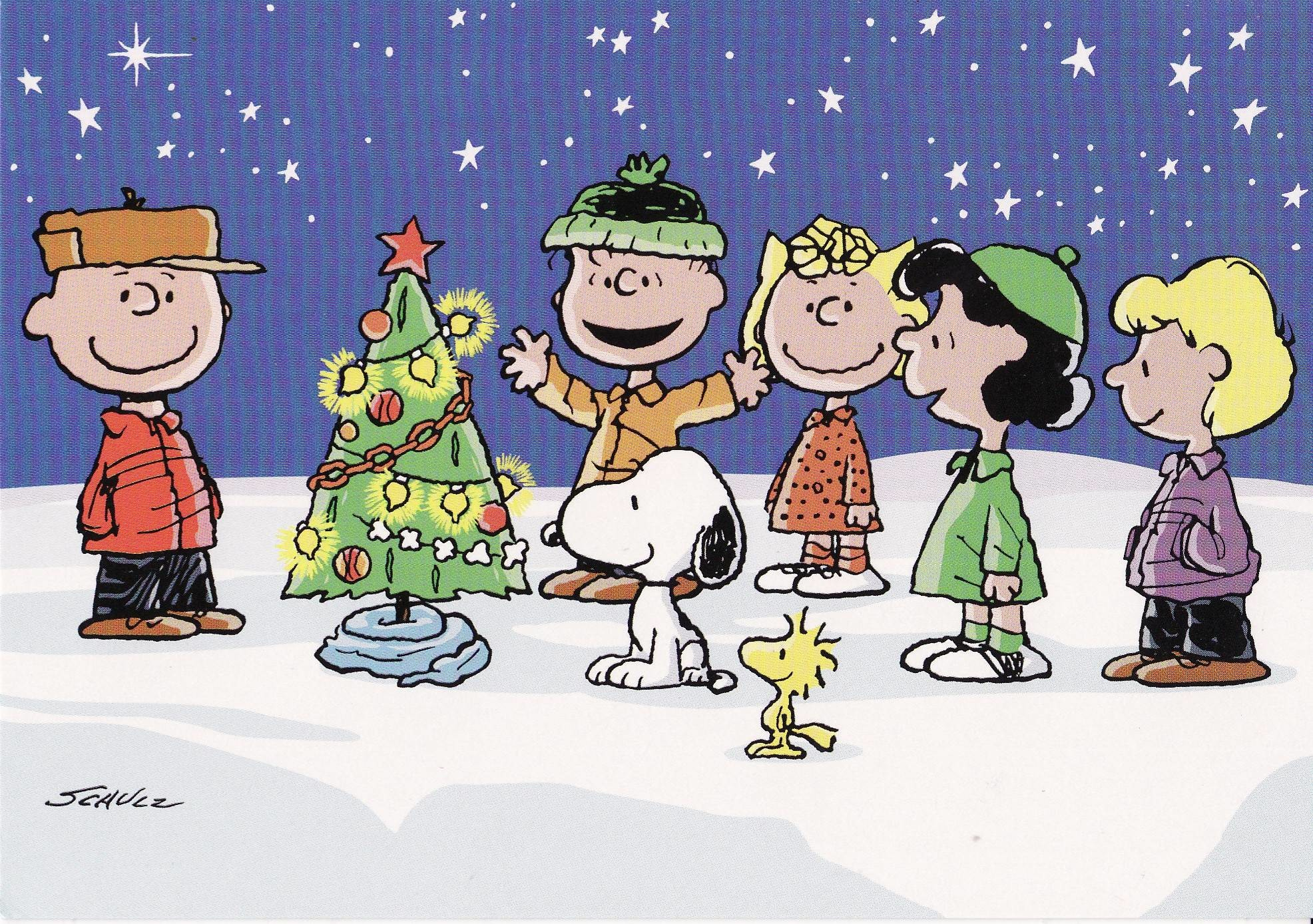 peanuts christmas wallpaper - Peanuts Christmas