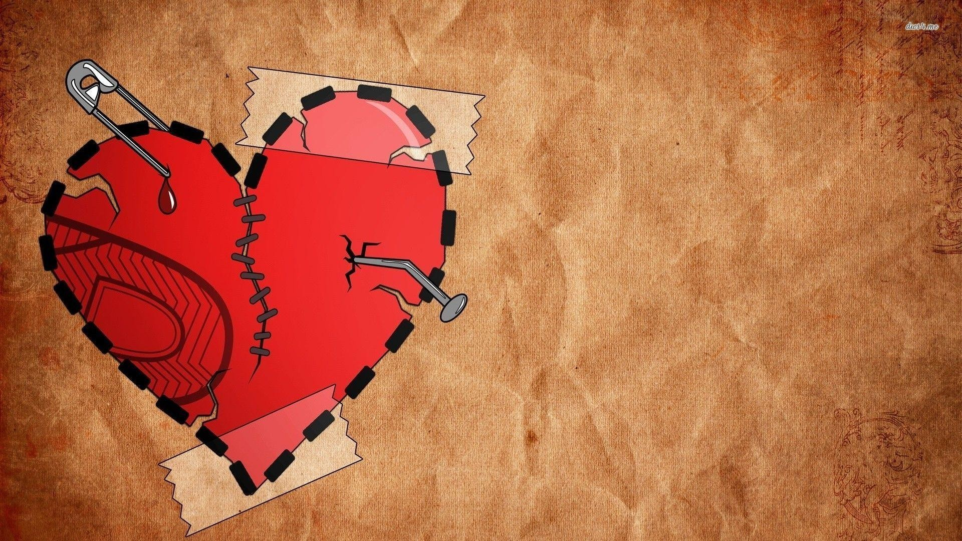 Broken Heart Background Wallpapertag