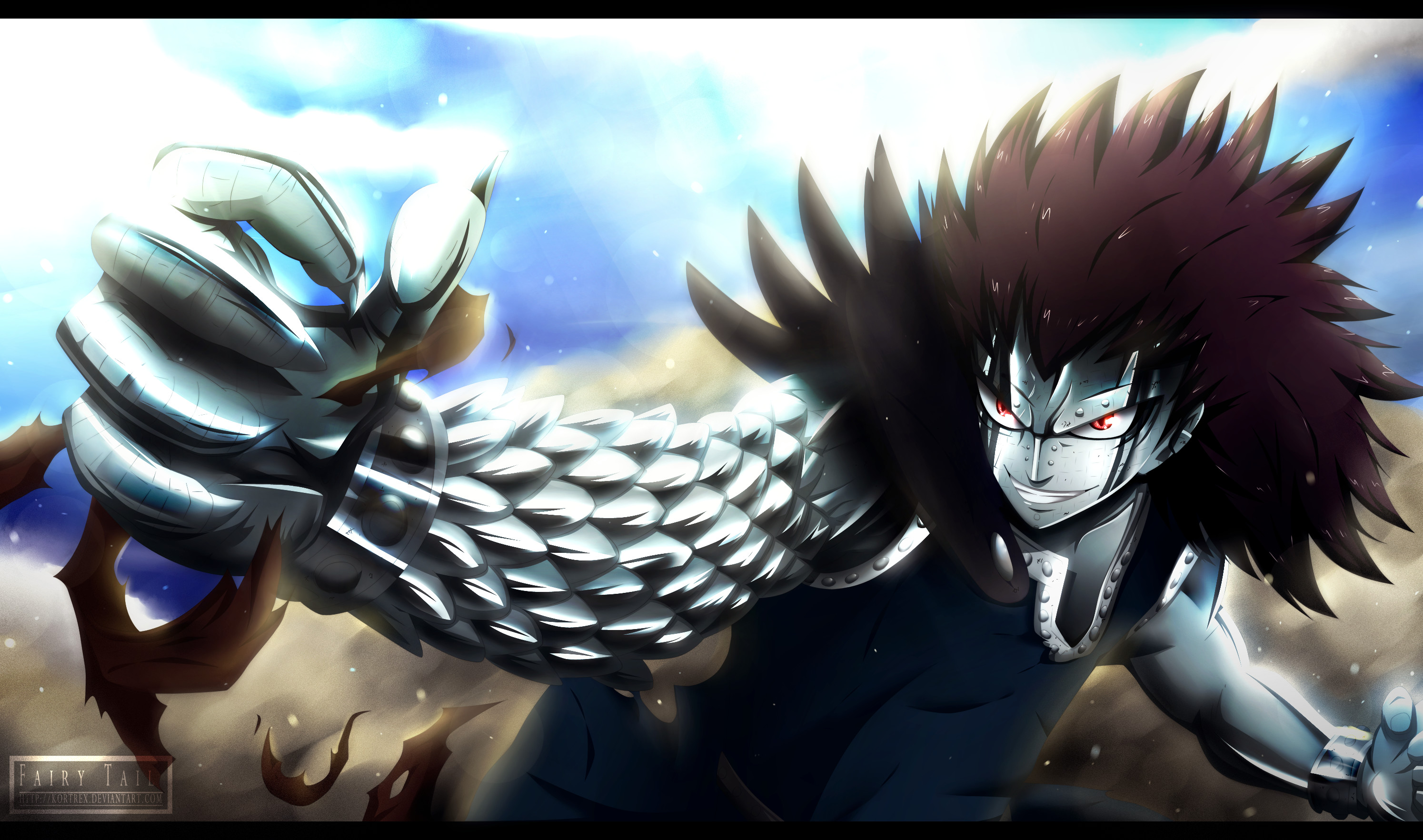 Gajeel Redfox Wallpapers Wallpapertag