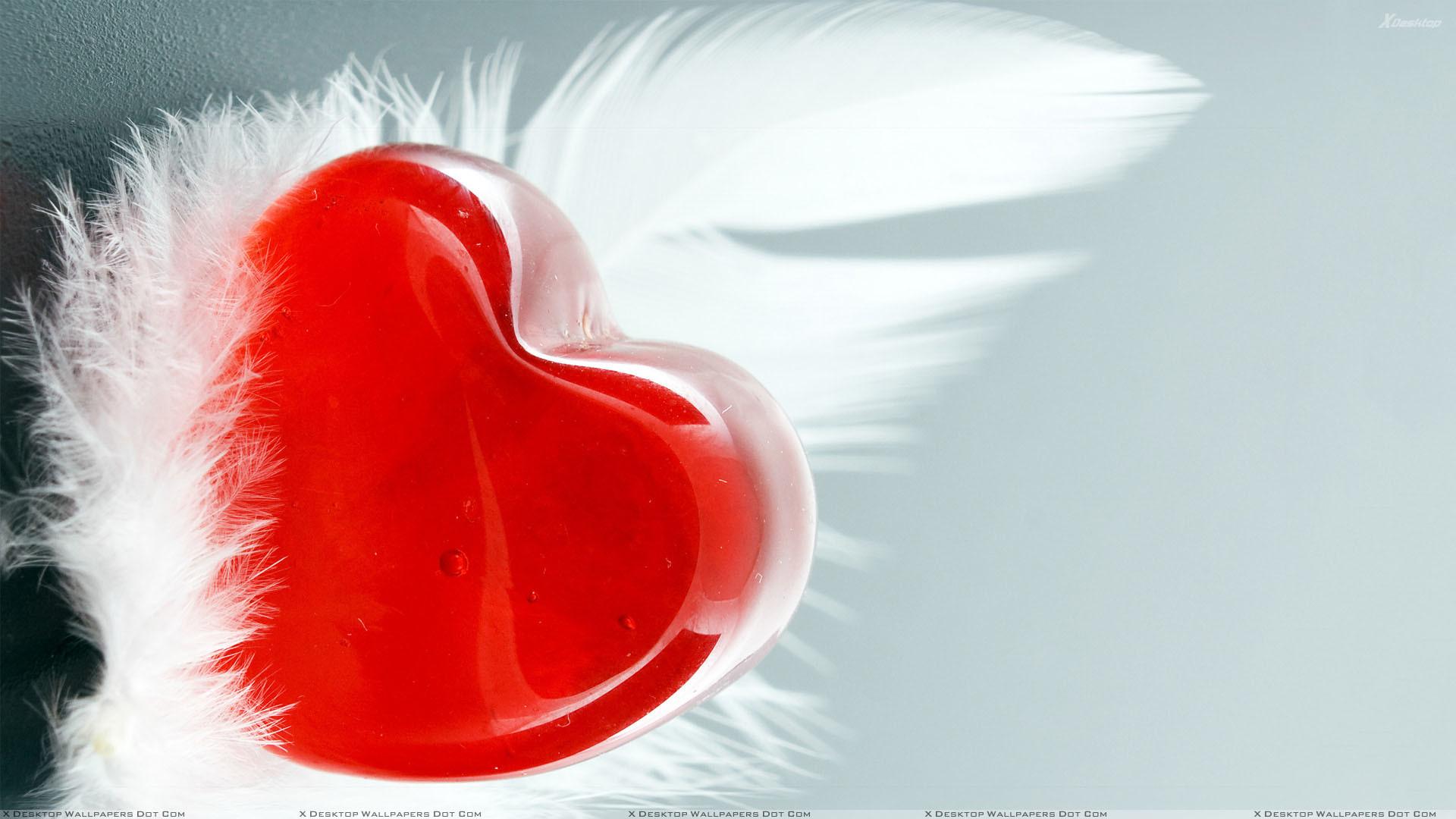 Red Heart Wallpaper Wallpapertag
